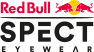 Red Bull SPECT | LACE 001P 53 | black / smoke with gold flash pol