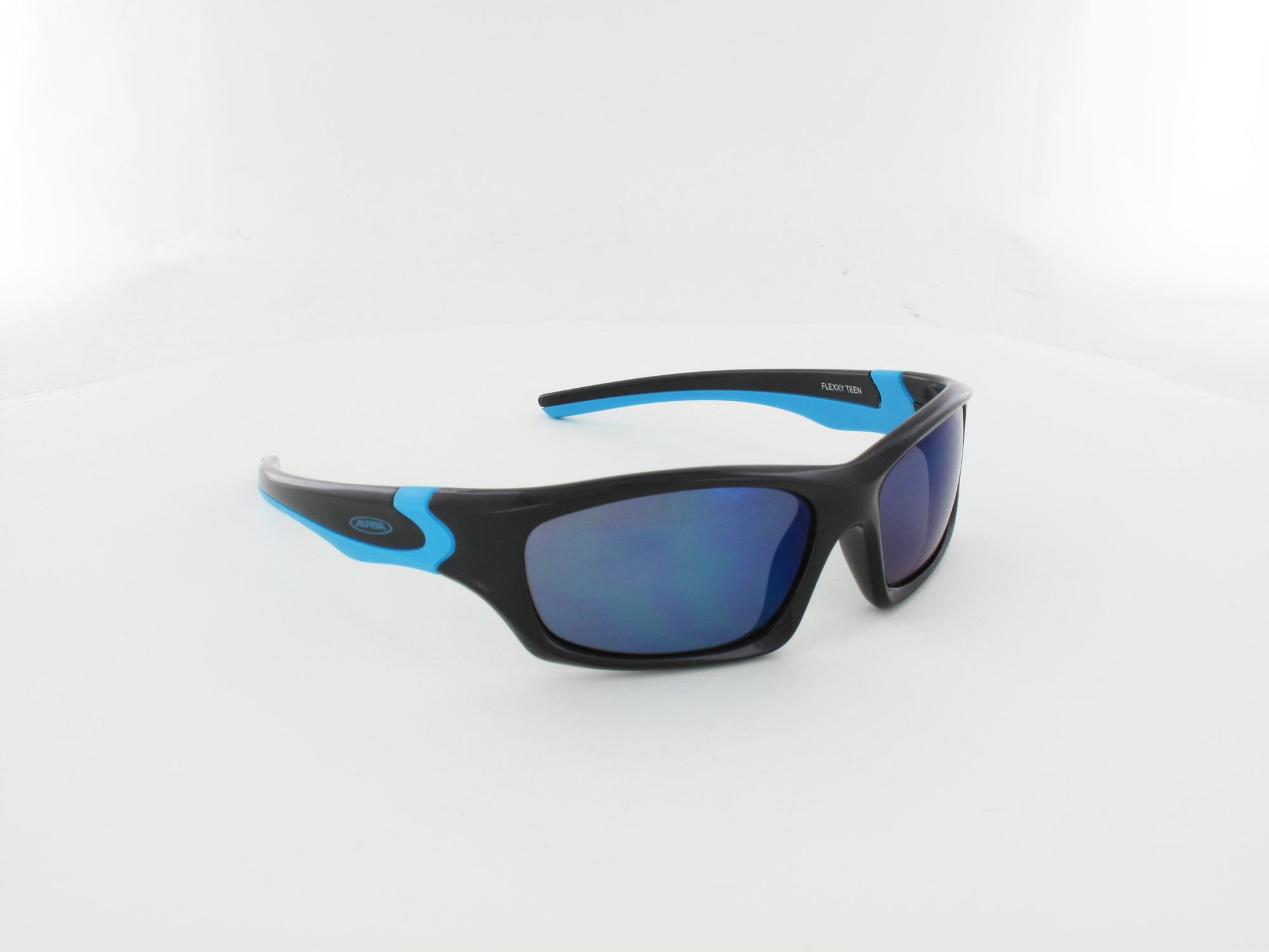 ALPINA | Flexxy Teen A8496 331 55 | black-cyan / cm blue