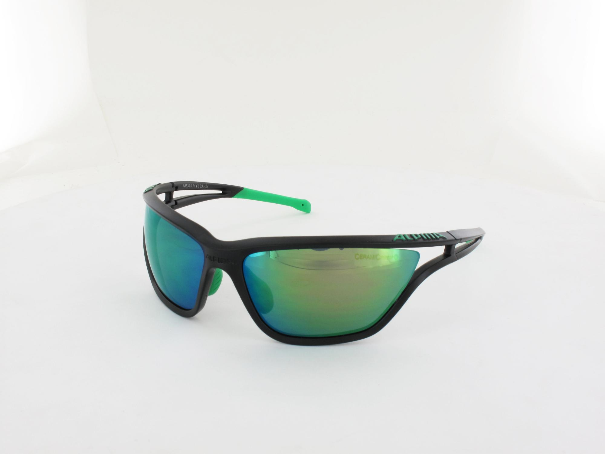 ALPINA | Eye-5 CM+ A8536 071 71 | black matt / CM+ green