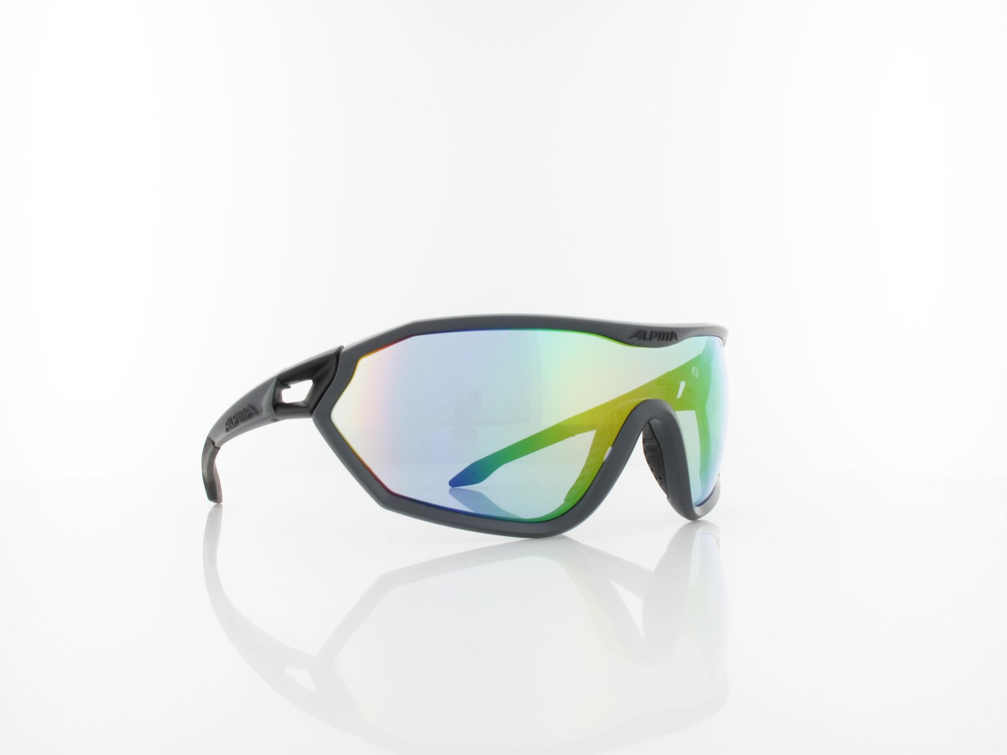 Alpina | S-WAY A8585 229 140 | coal matt black / vlm+ rainbow