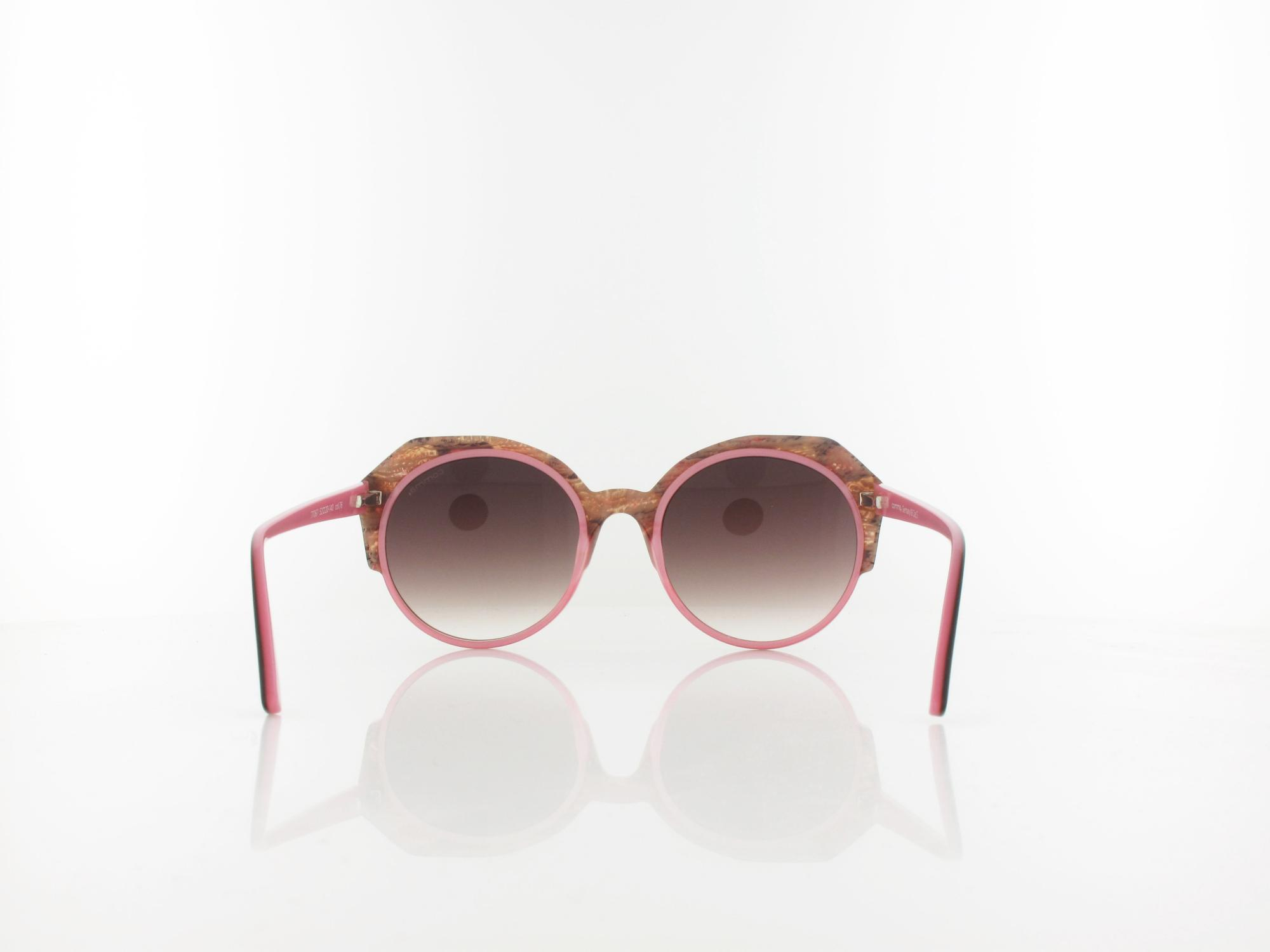 Comma | 77067 76 52 | red gold brown / rose gradient