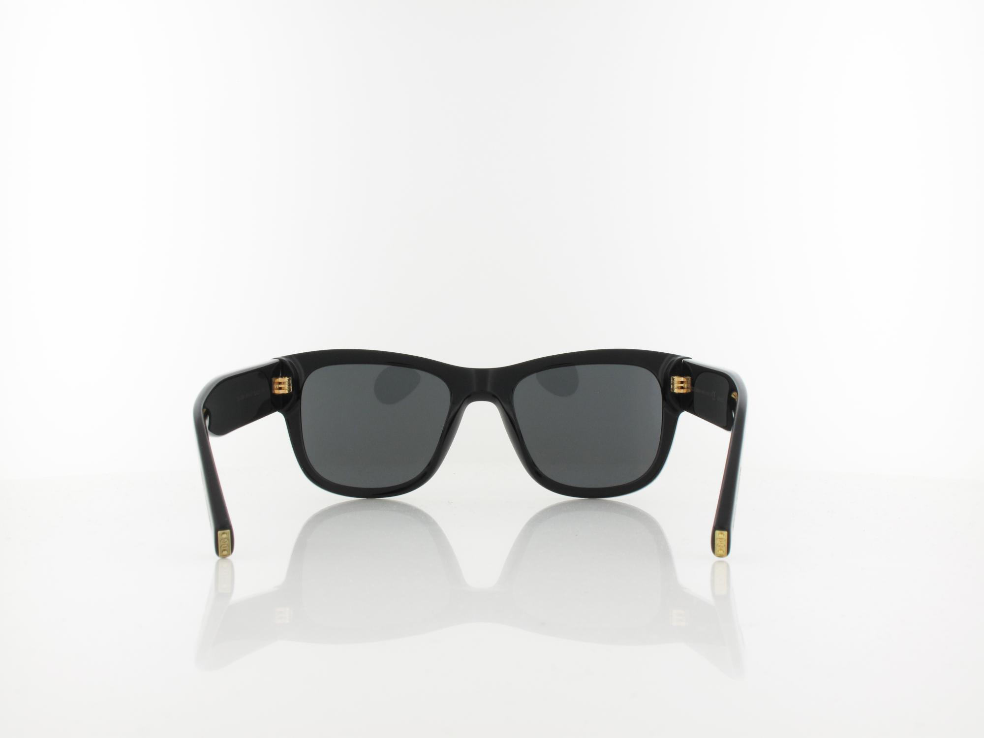 Dolce&Gabbana | DG4338 501/87 52 | black / grey