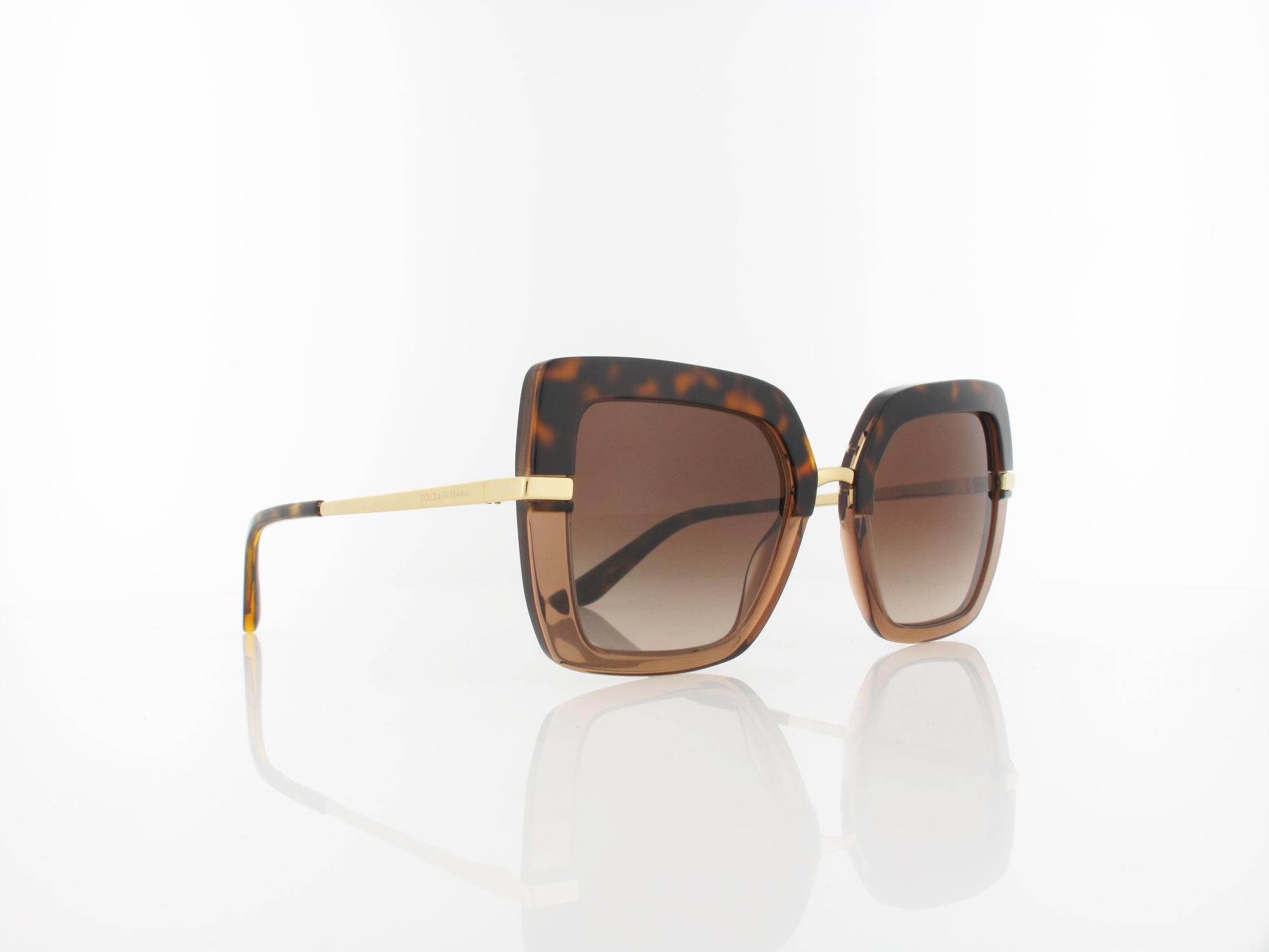 Dolce&Gabbana | DG4373 325613 52 | top havana on transp brown / brown gradient