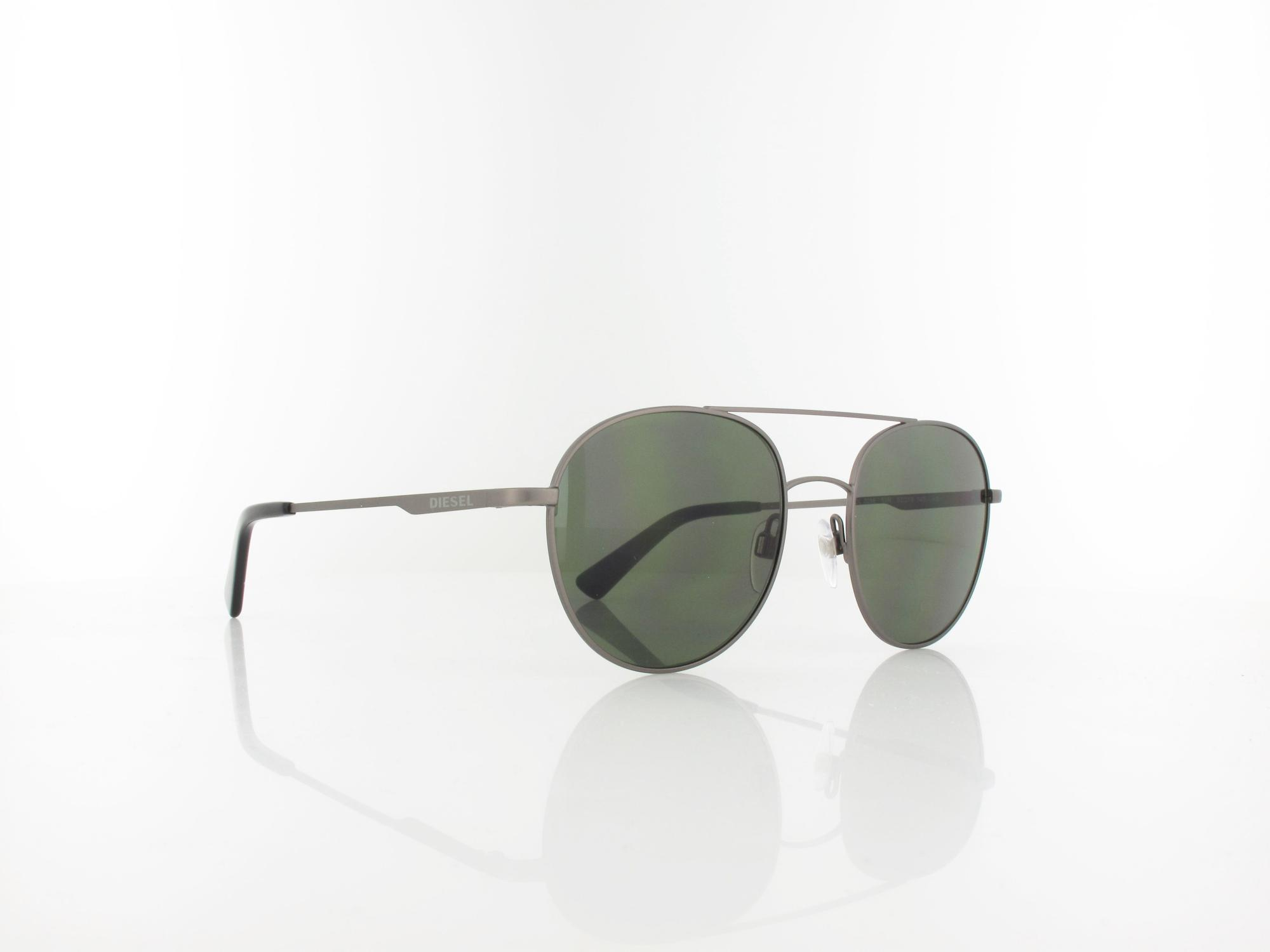 Diesel | DL0286 09N 52 | matte anthracite / green