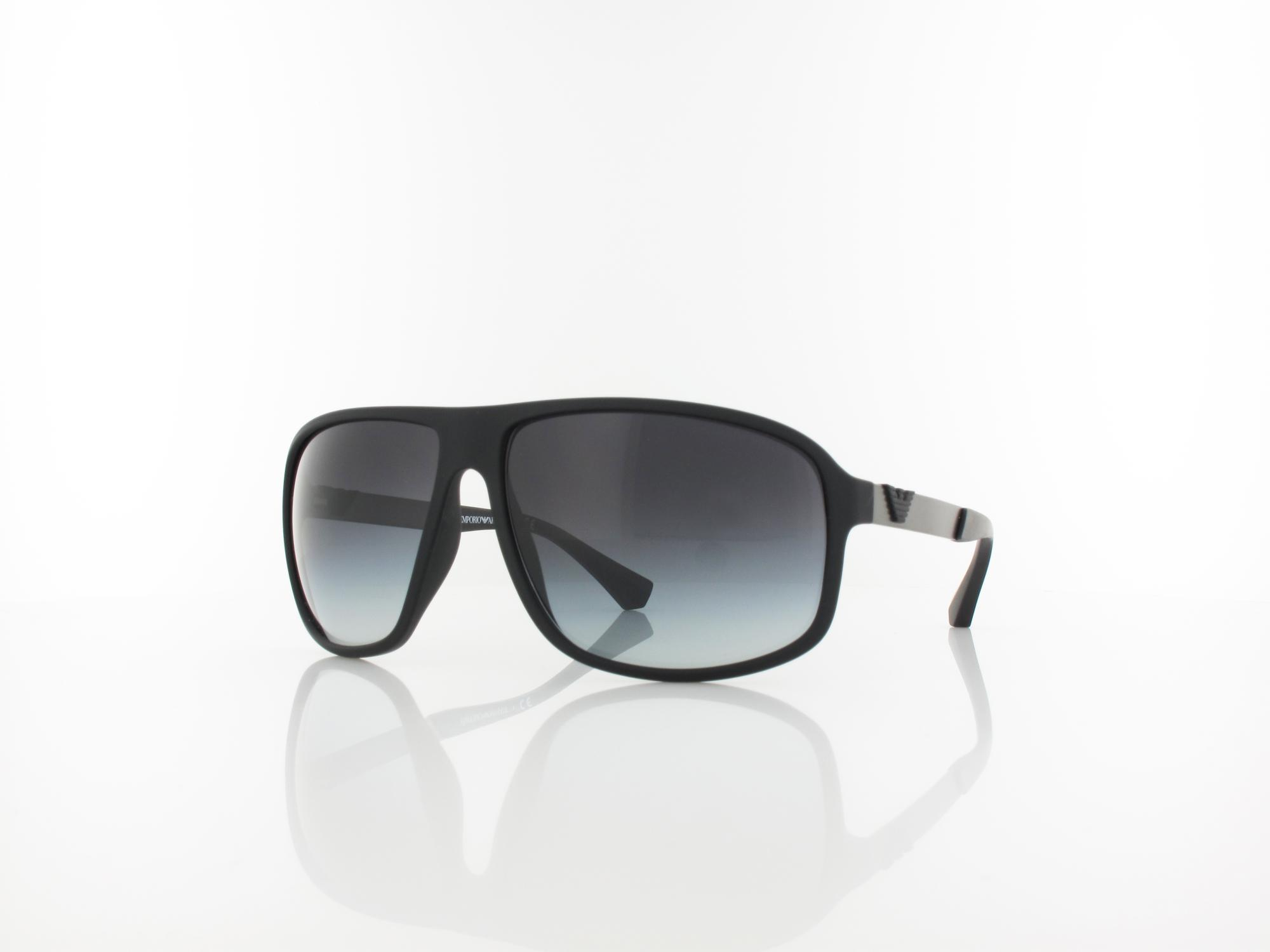 Emporio Armani | EA4029 50638G 64 | black rubber / grey gradient
