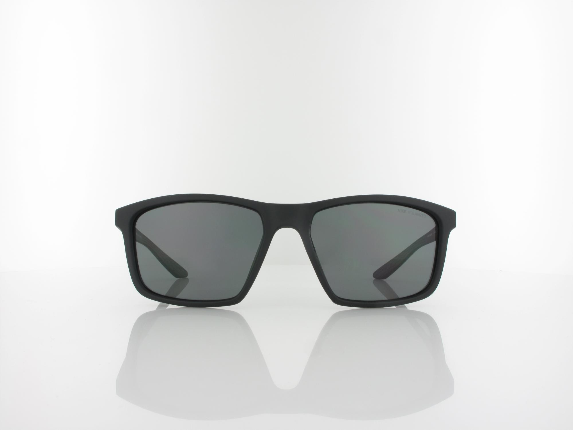 Nike | Valiant P CW4640 010 60 | matte black silver / polarized grey