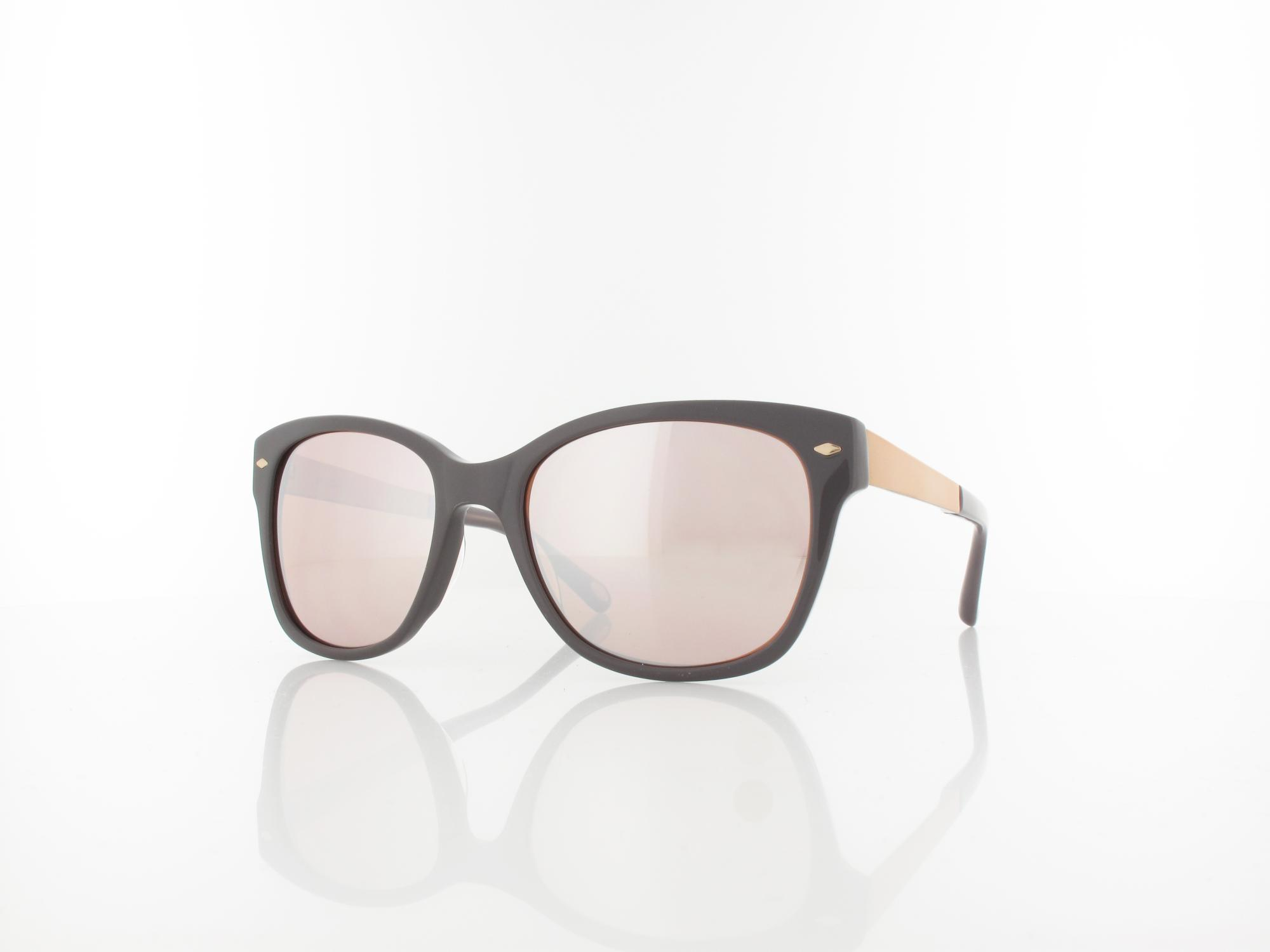 Fossil | FOS 2012/S KL9 55 | grey rose gold / brown silver mirror