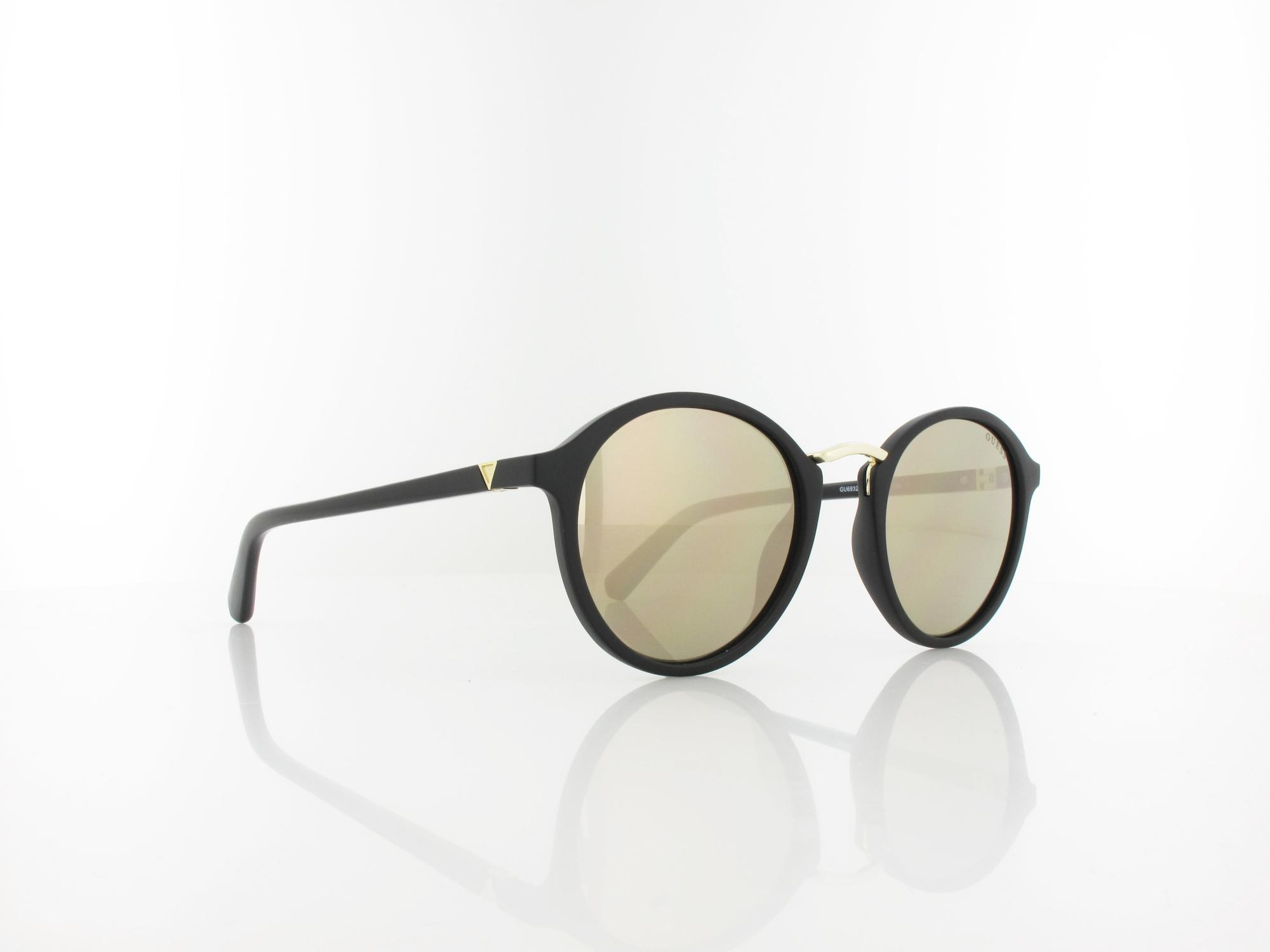 Guess | GU6932/S 02G 51 | matte black / brown mirror