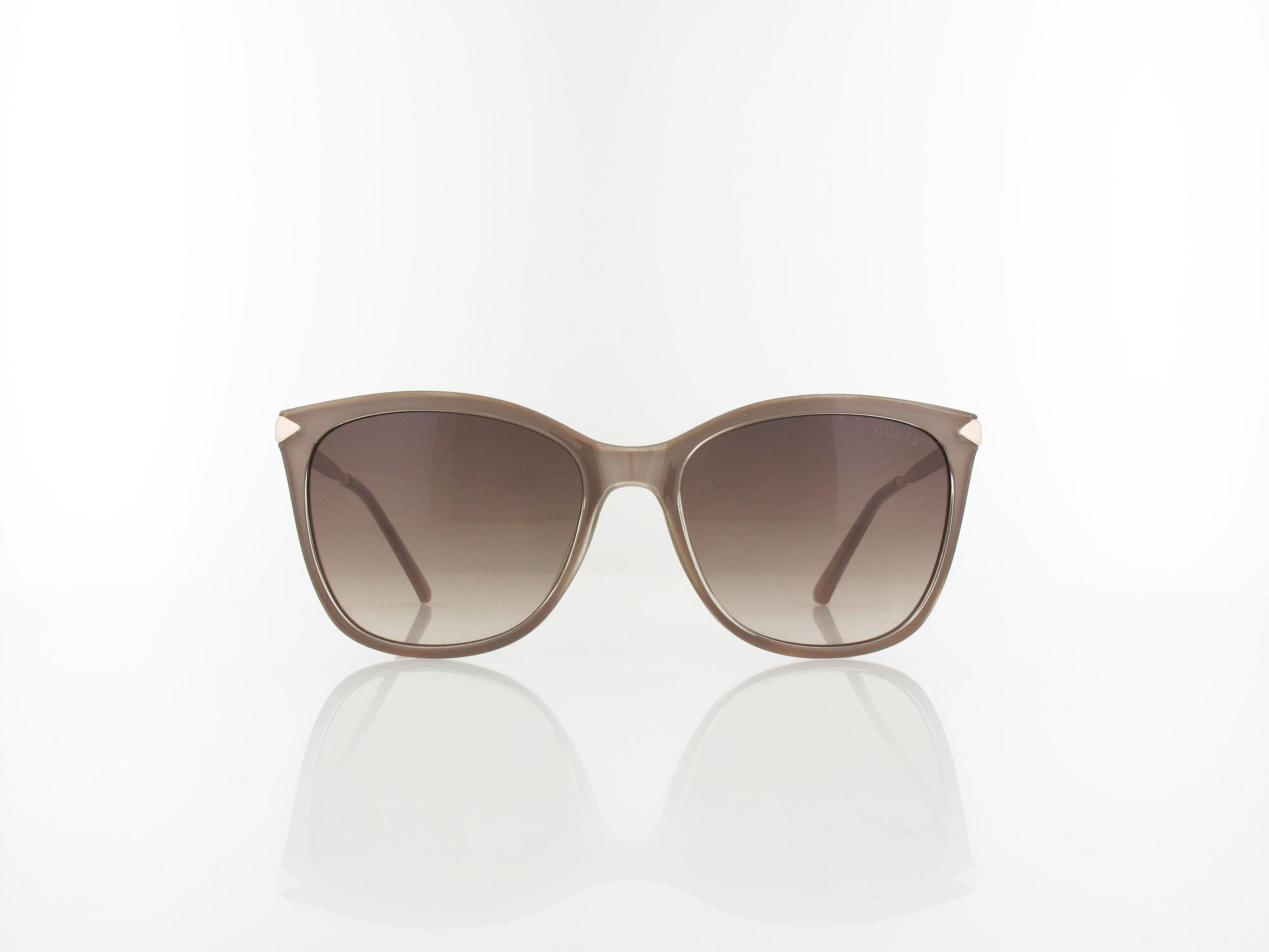 Guess | GU7483/S 57F 56 | shiny beige / brown gradient