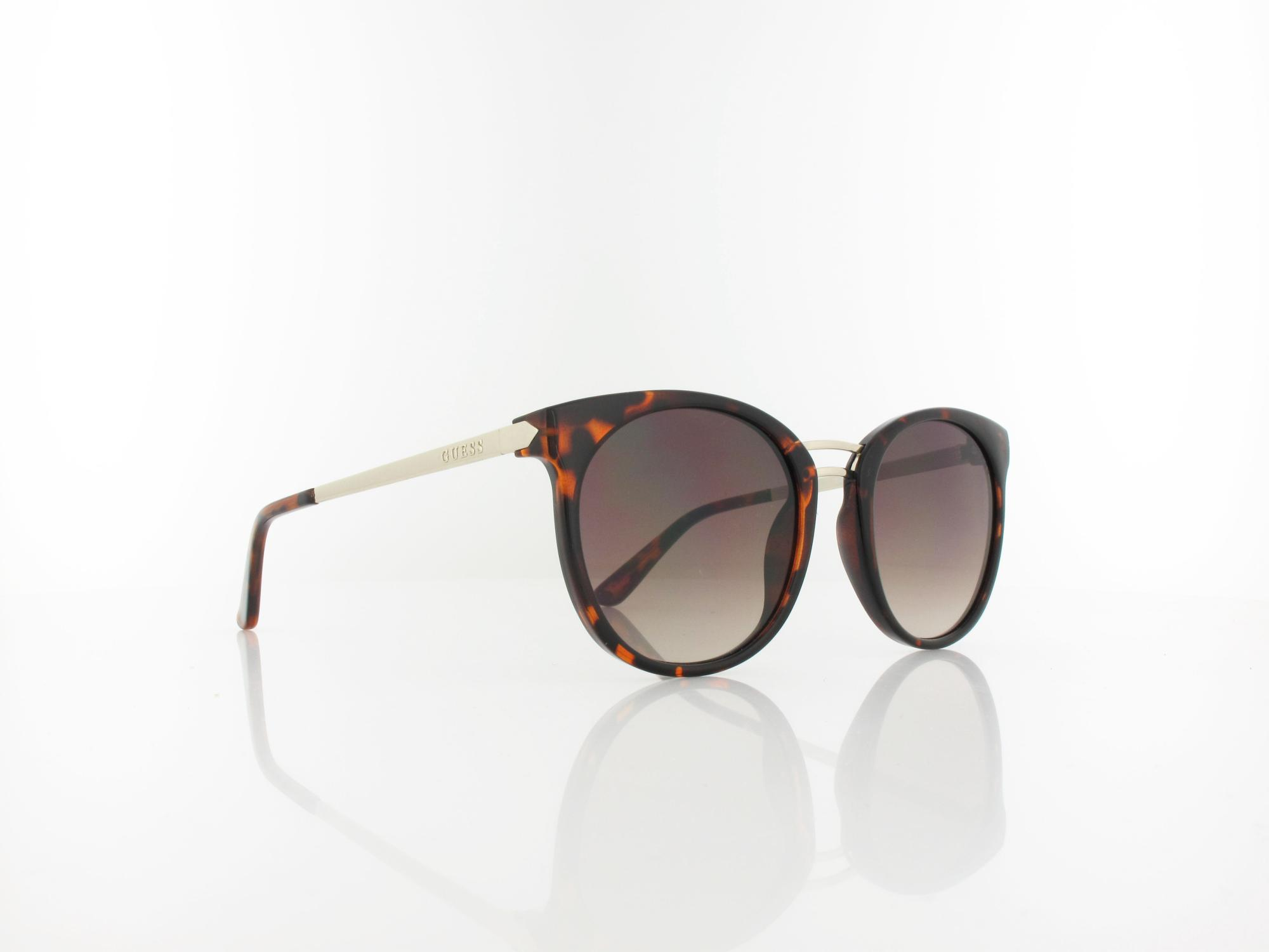 Guess | GU7568/S 52F 52 | dark havana / brown gradient