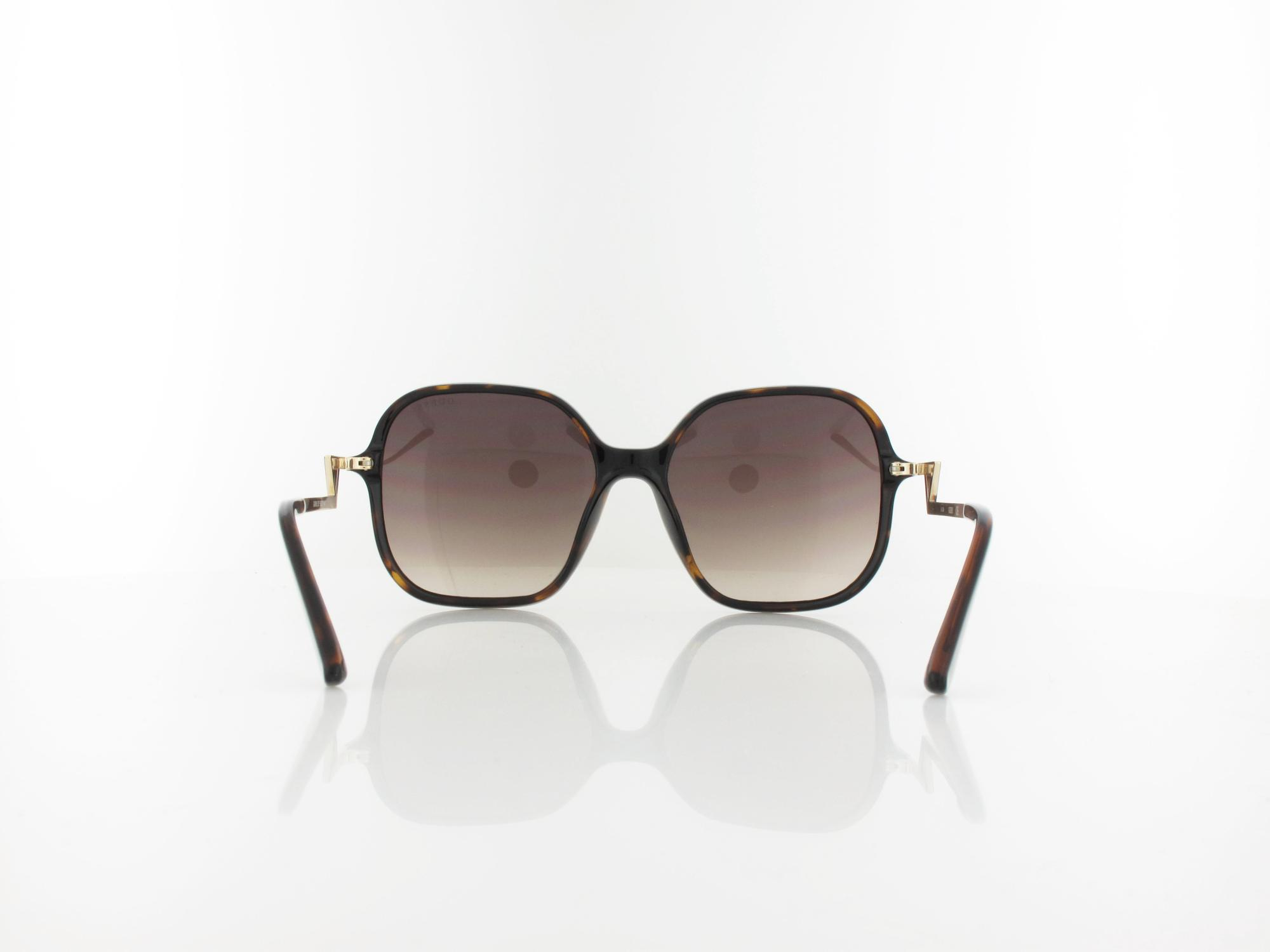Guess | GU7605/S 52F 59 | dark havana / brown gradient