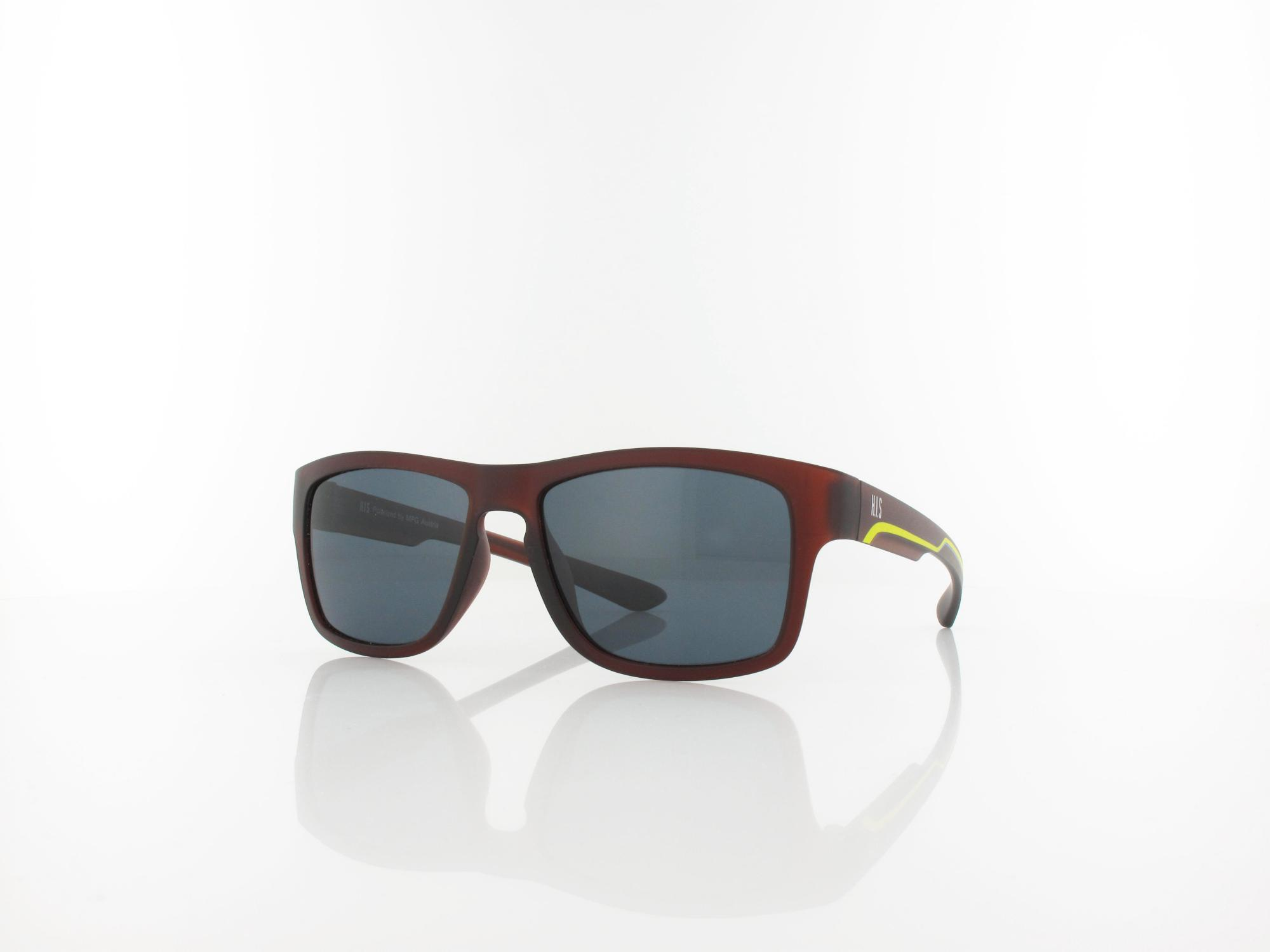 HIS polarized | HPS80103-2 Teen 52 | dark brown / grey polarized