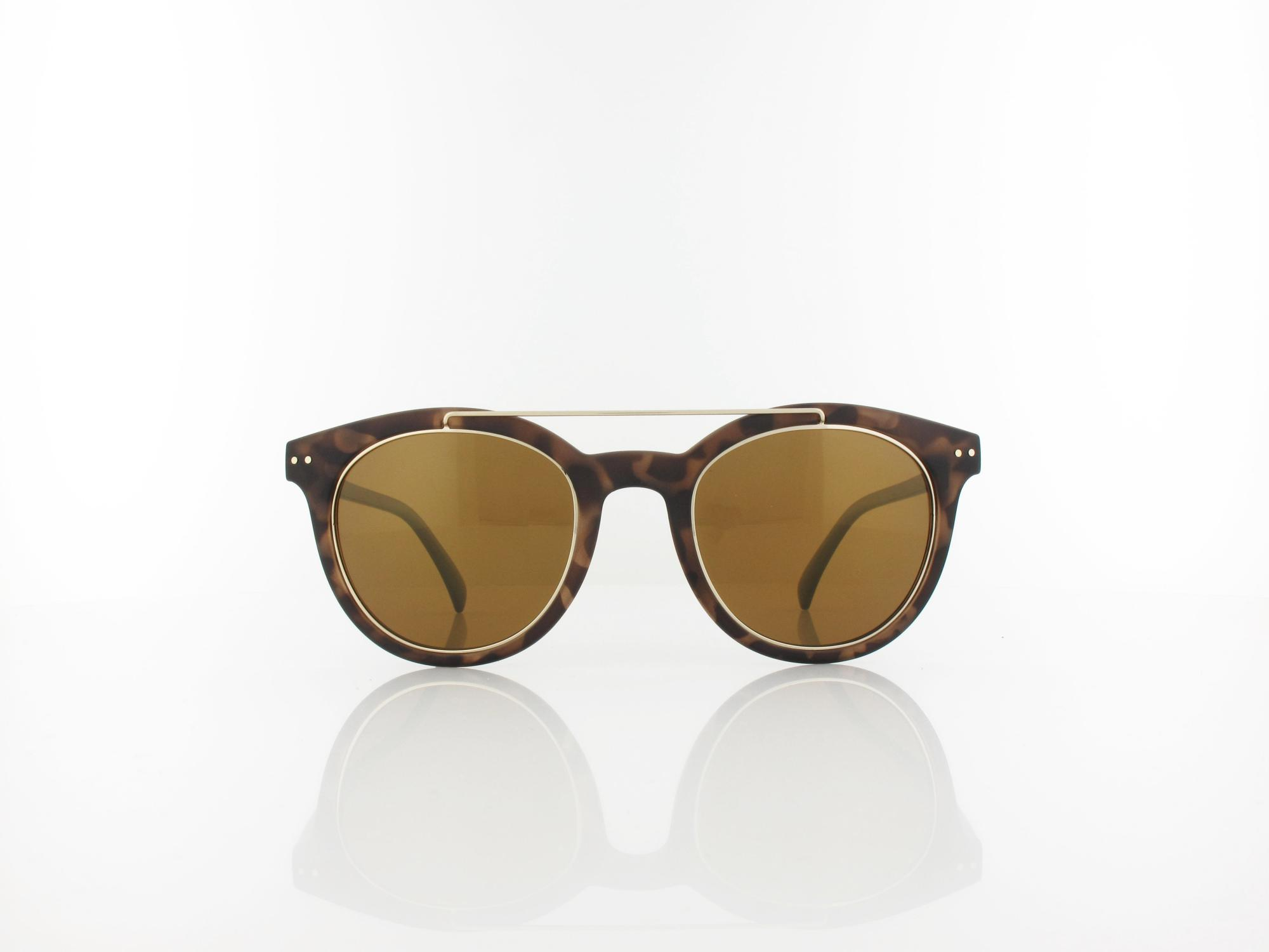 HIS polarized | HPS88102-2 50 | brown pattern / gold mirror polarized