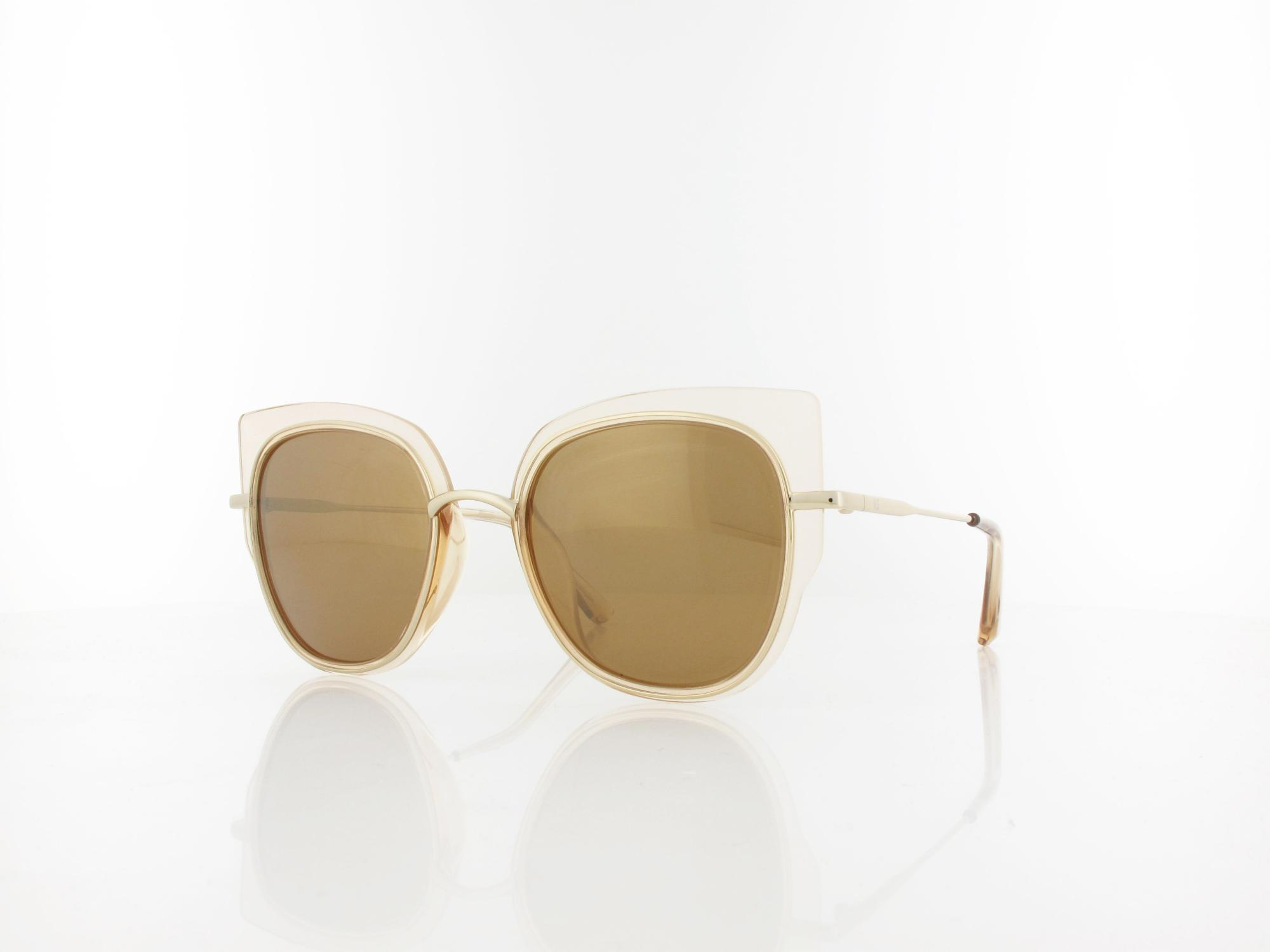 HIS polarized | HPS94121-3 52 | brown / brown with gold flash polarized