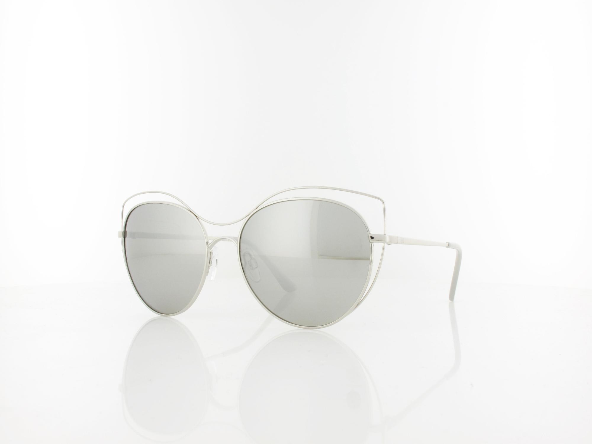 HIS polarized | HPS94122-3 56 | silver / smoke with silver flash polarized