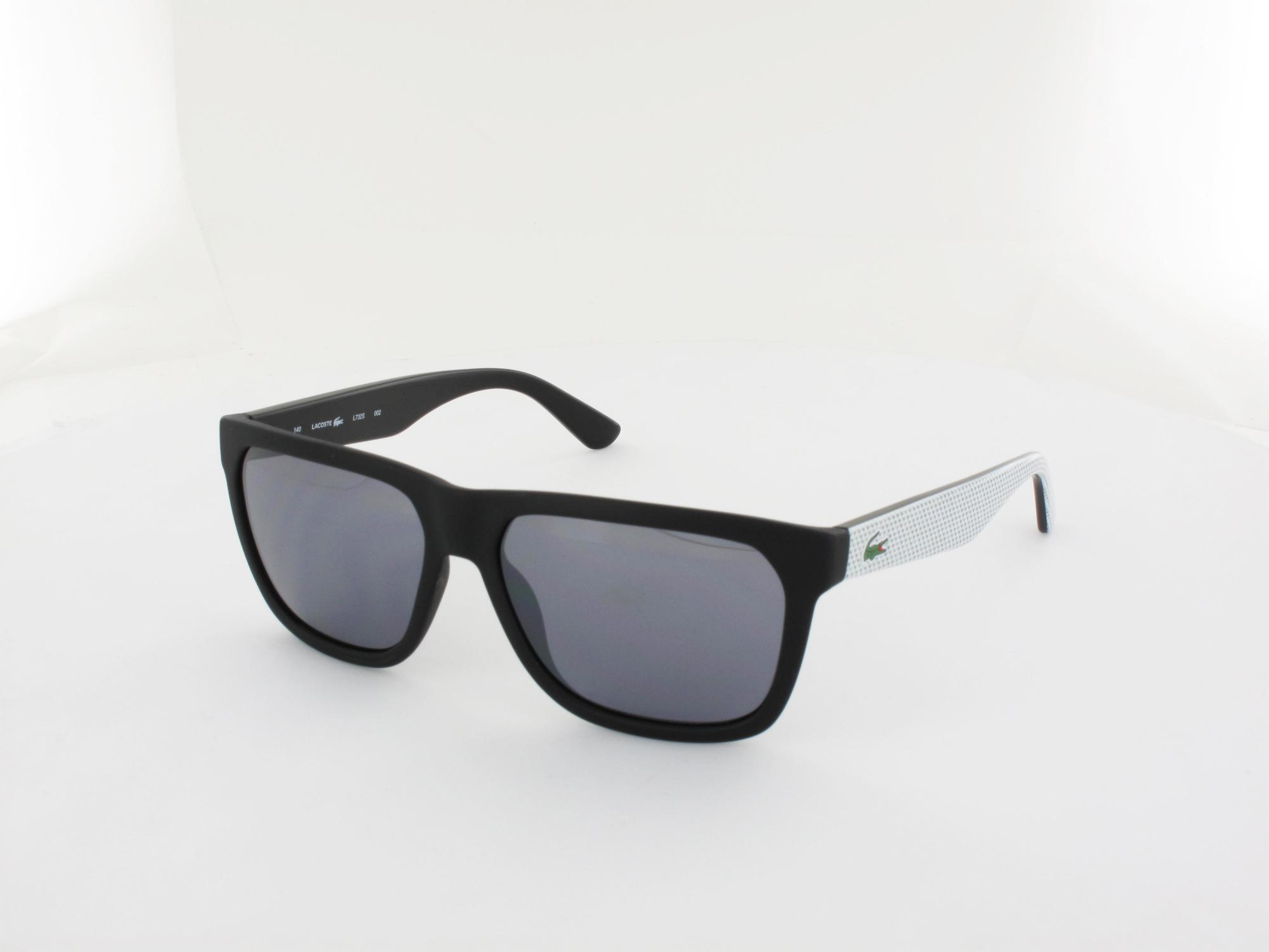 Lacoste | L732S 002 56 | black matte white / grey