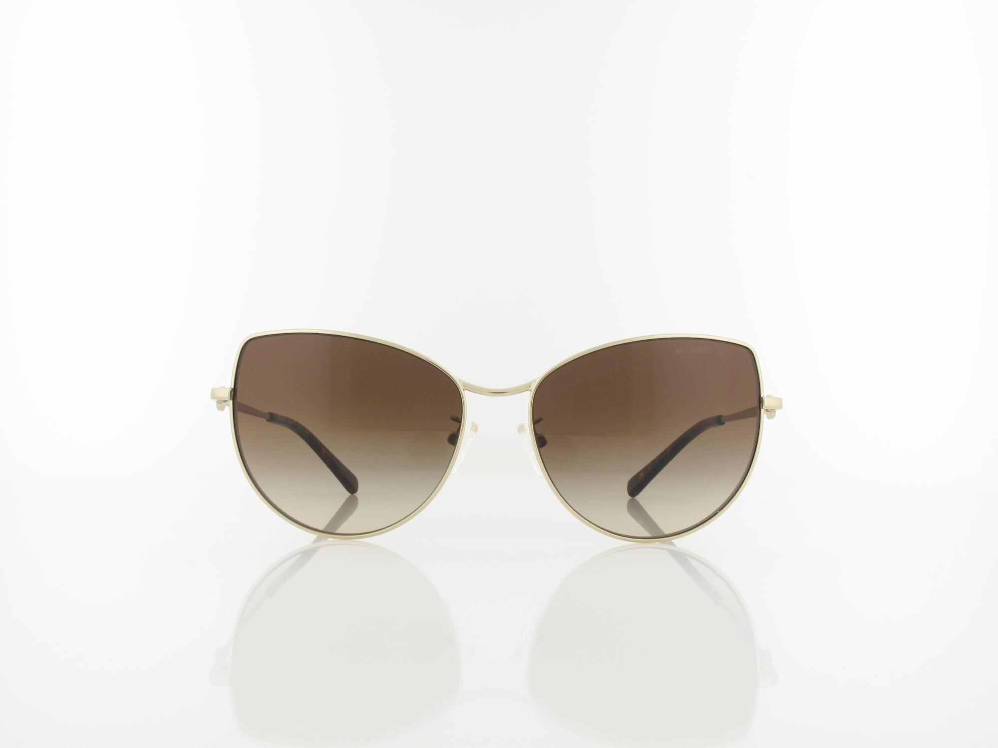 Michael Kors | MK1062 101413 58 | light gold / brown smoke gradient