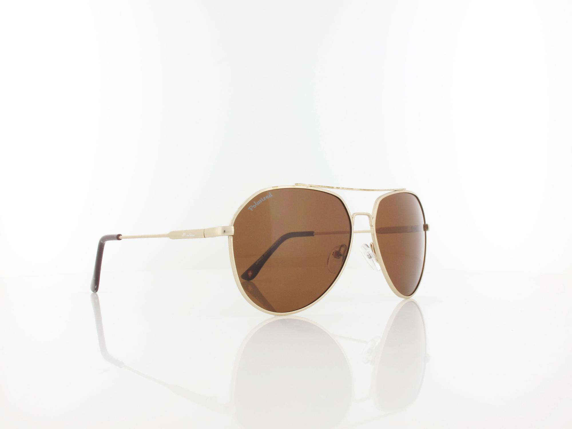 Brilando | MP90 D 57 | gold / brown polarized