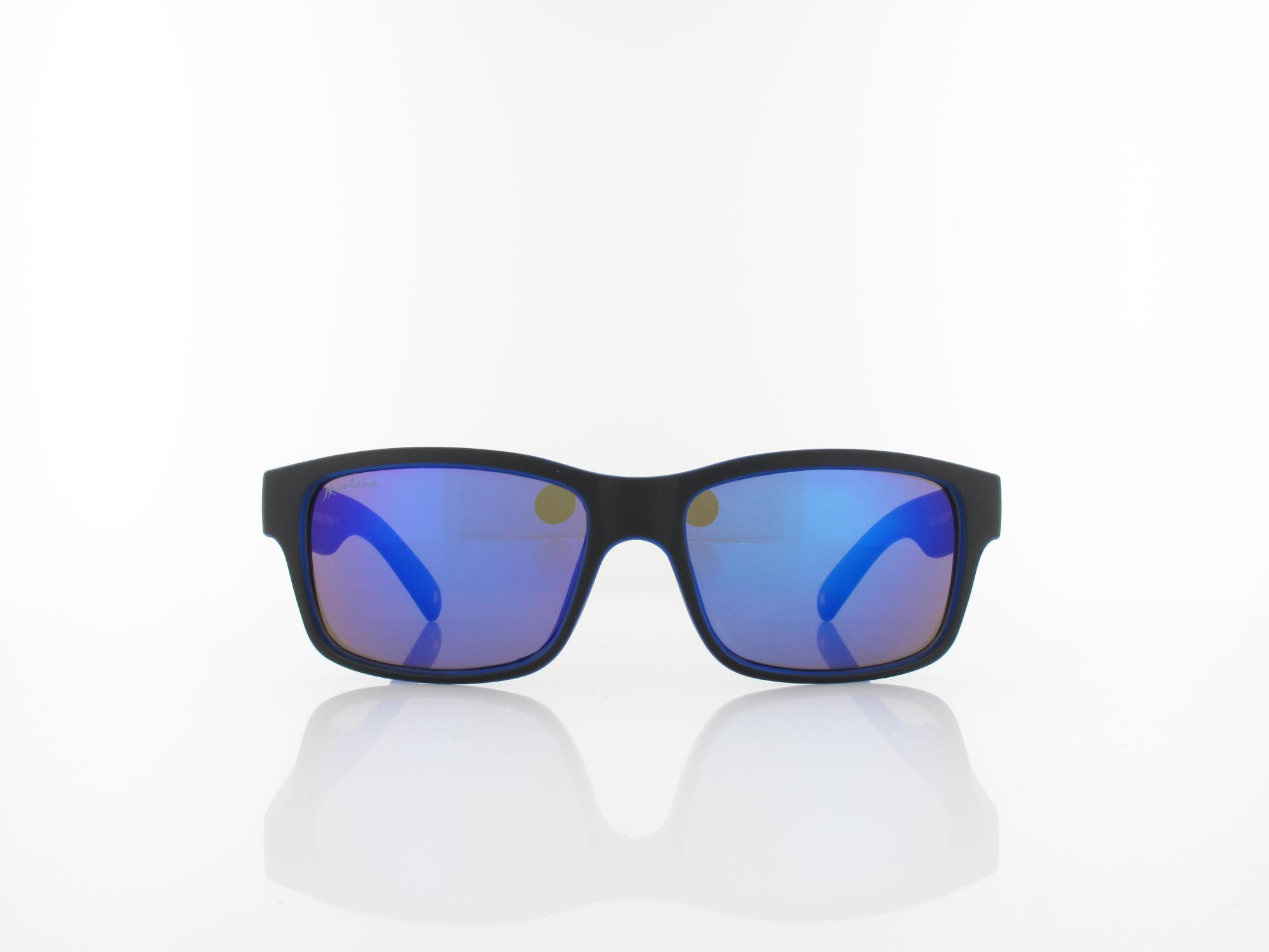 Brilando | MS27 A 55 | black blue / blue mirror