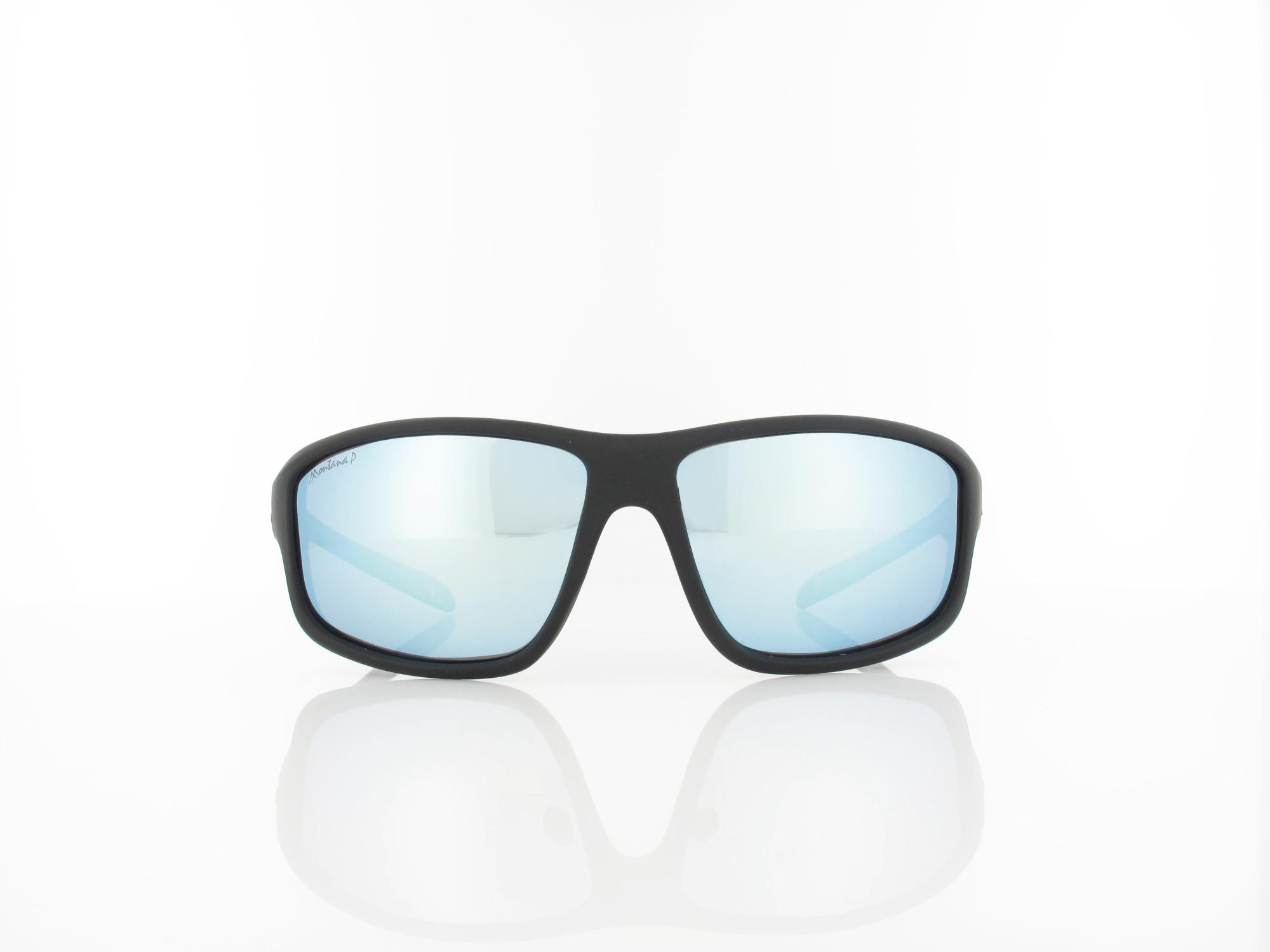 Brilando | SP313 B 63 | matte black / revo light blue silver