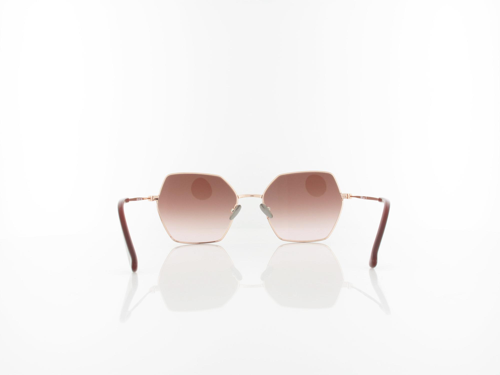 Brilando | Premium Urban U2020 54 | red rosegold / brown gradient