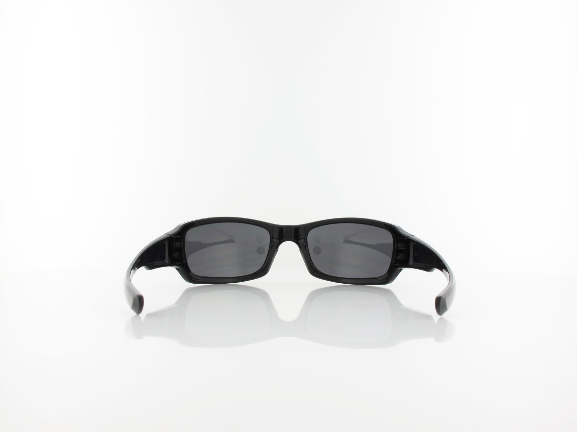 Oakley | Five Squared OO9238 06 54 | polished black / black iridium polarized