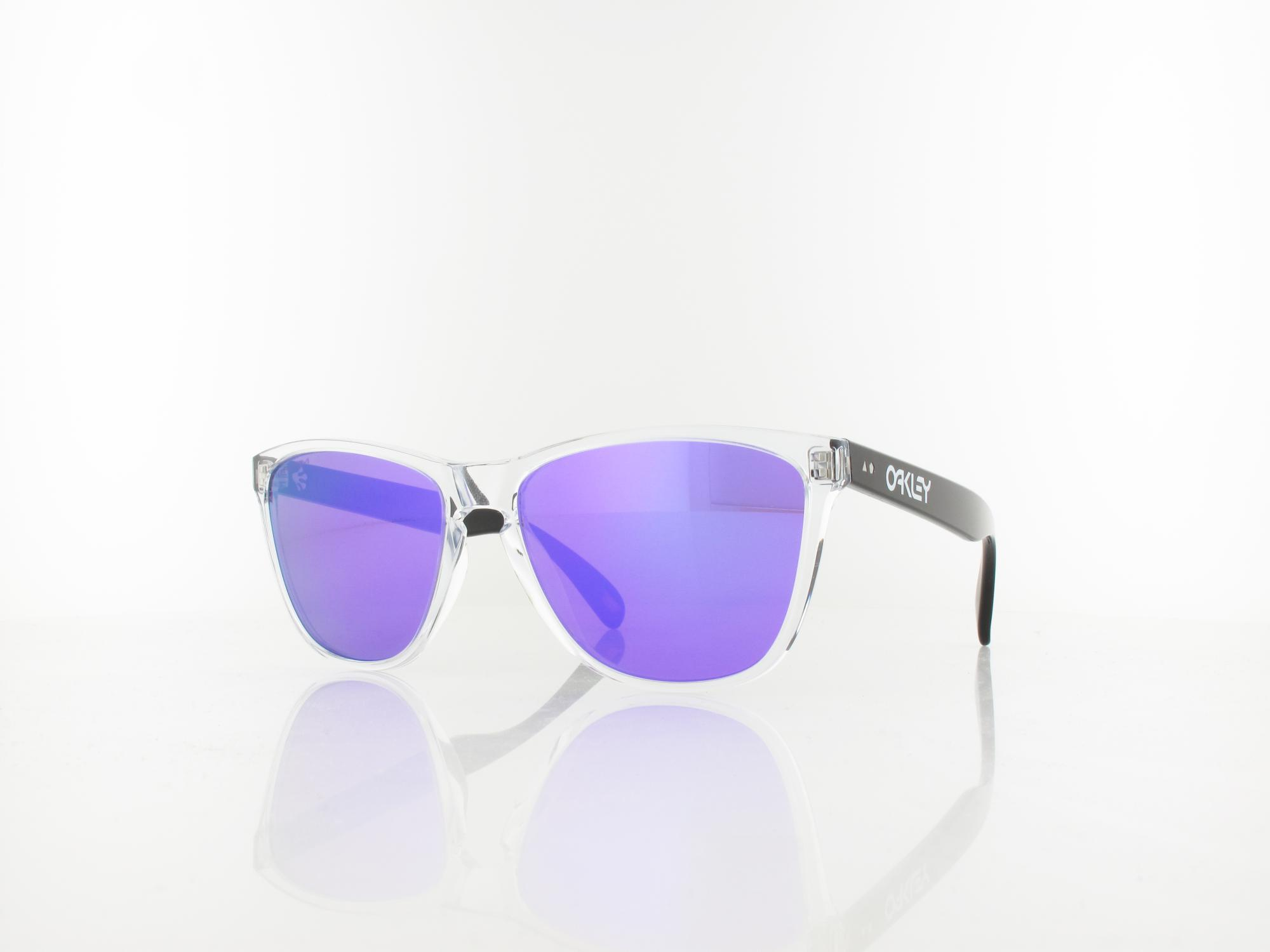Oakley | Frogskins OO9444 05 57 | polished clear black / prizm violet