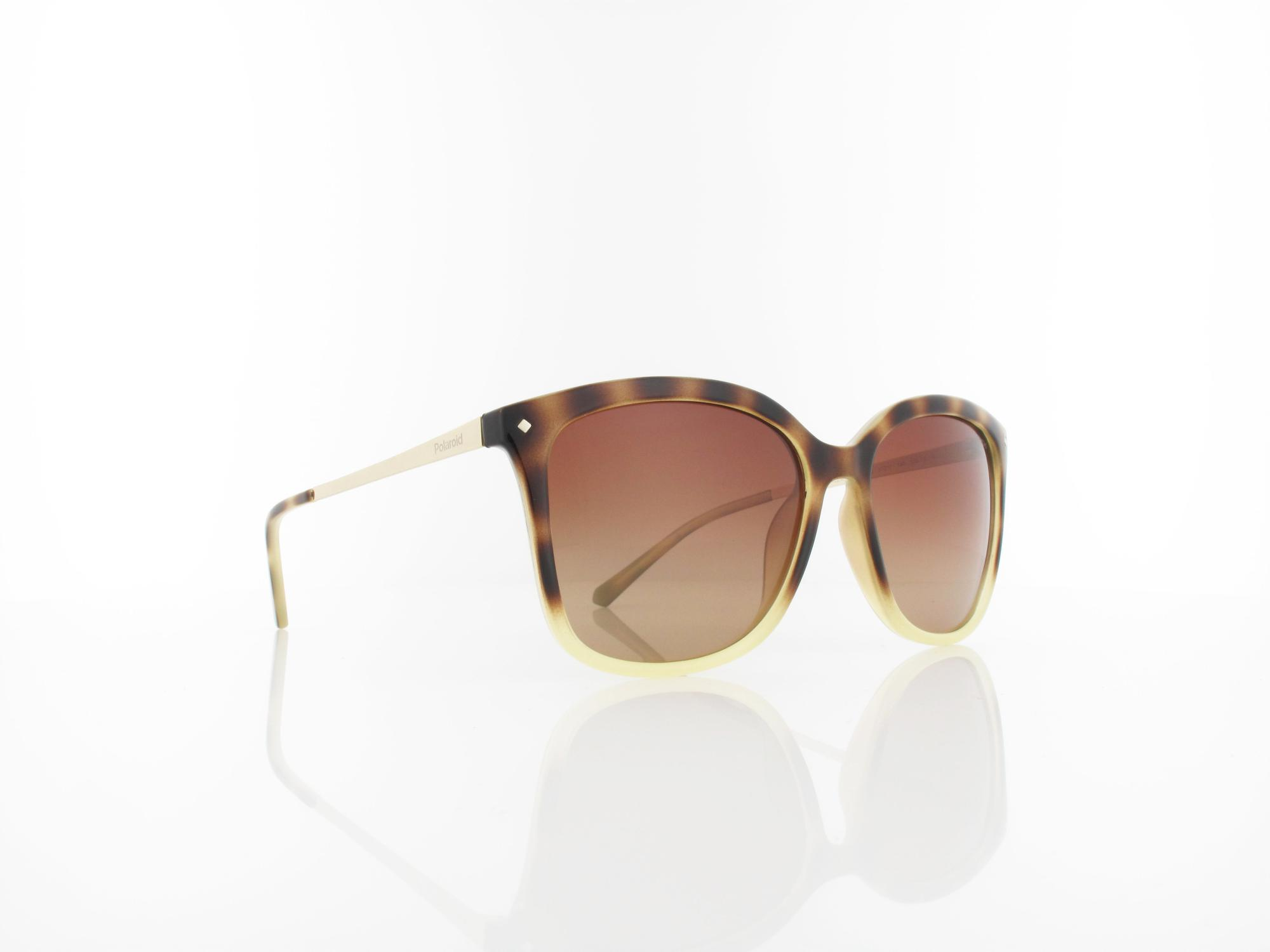 Polaroid | PLD 4043/S Y67/X3 57 | yellow havana gold / brown gradient polarized ds