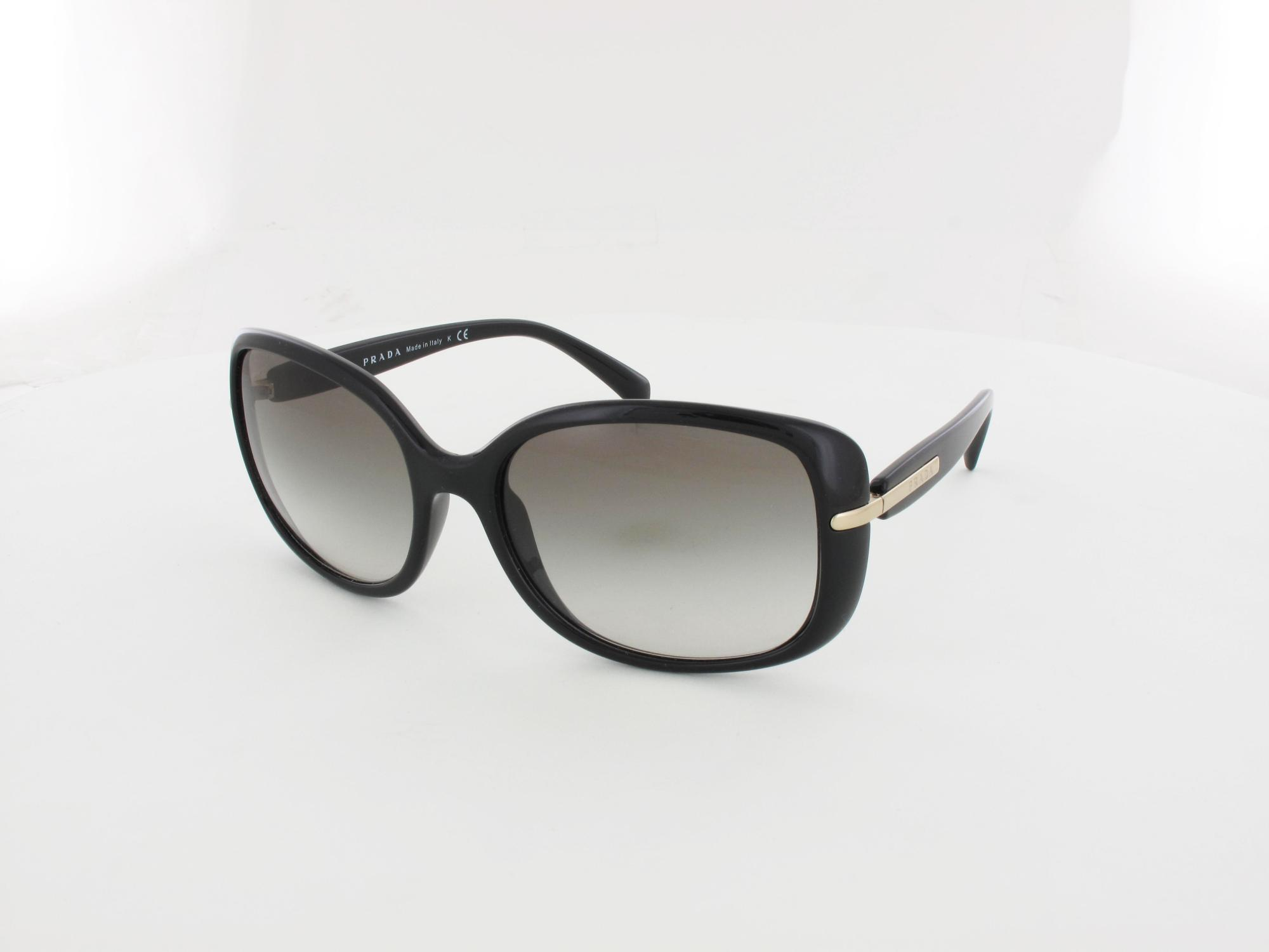 Prada | PR08OS 1AB0A7 57 | black / grey gradient