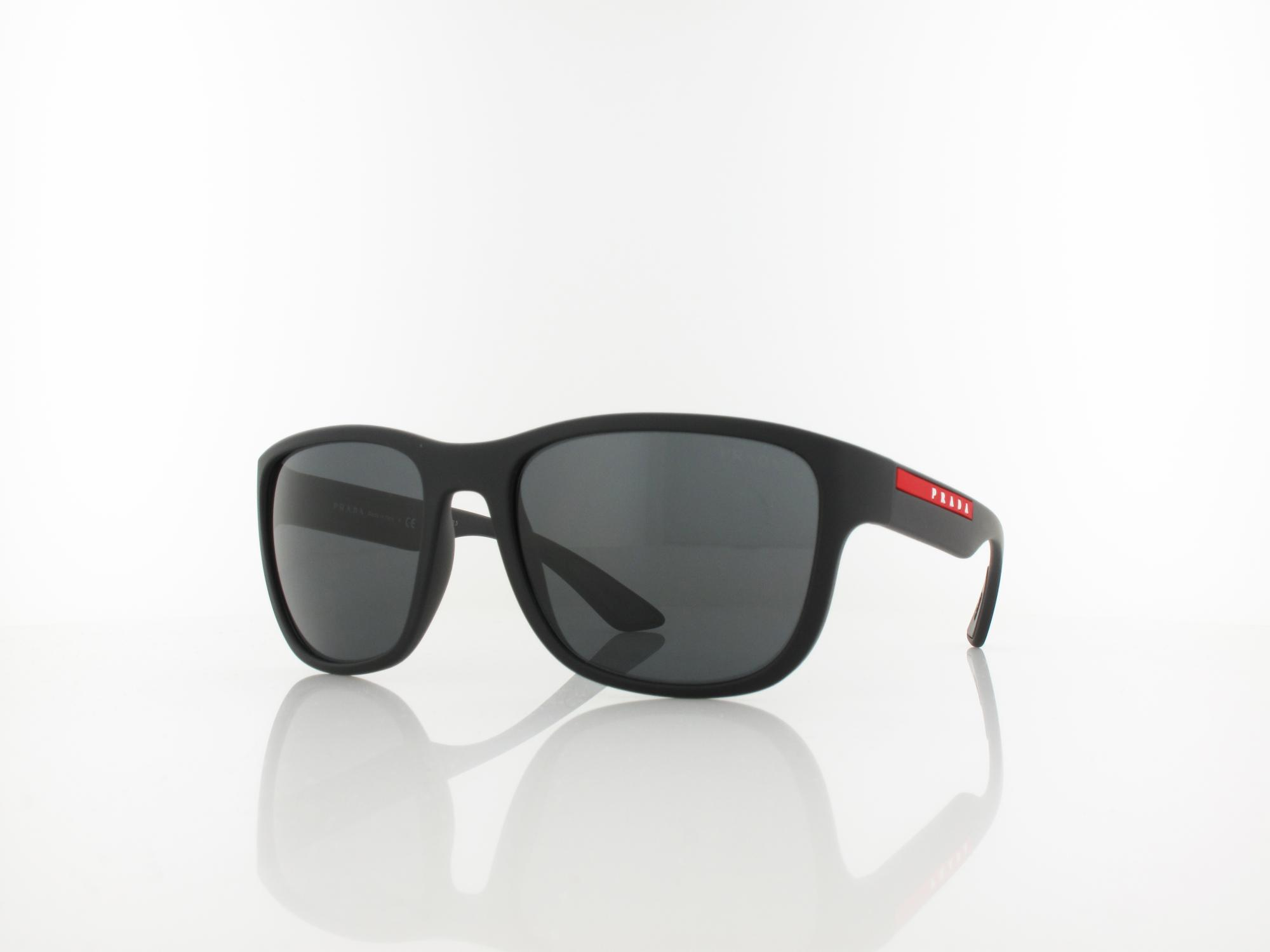 Prada | PS01US DG05S0 59 | black rubber / grey