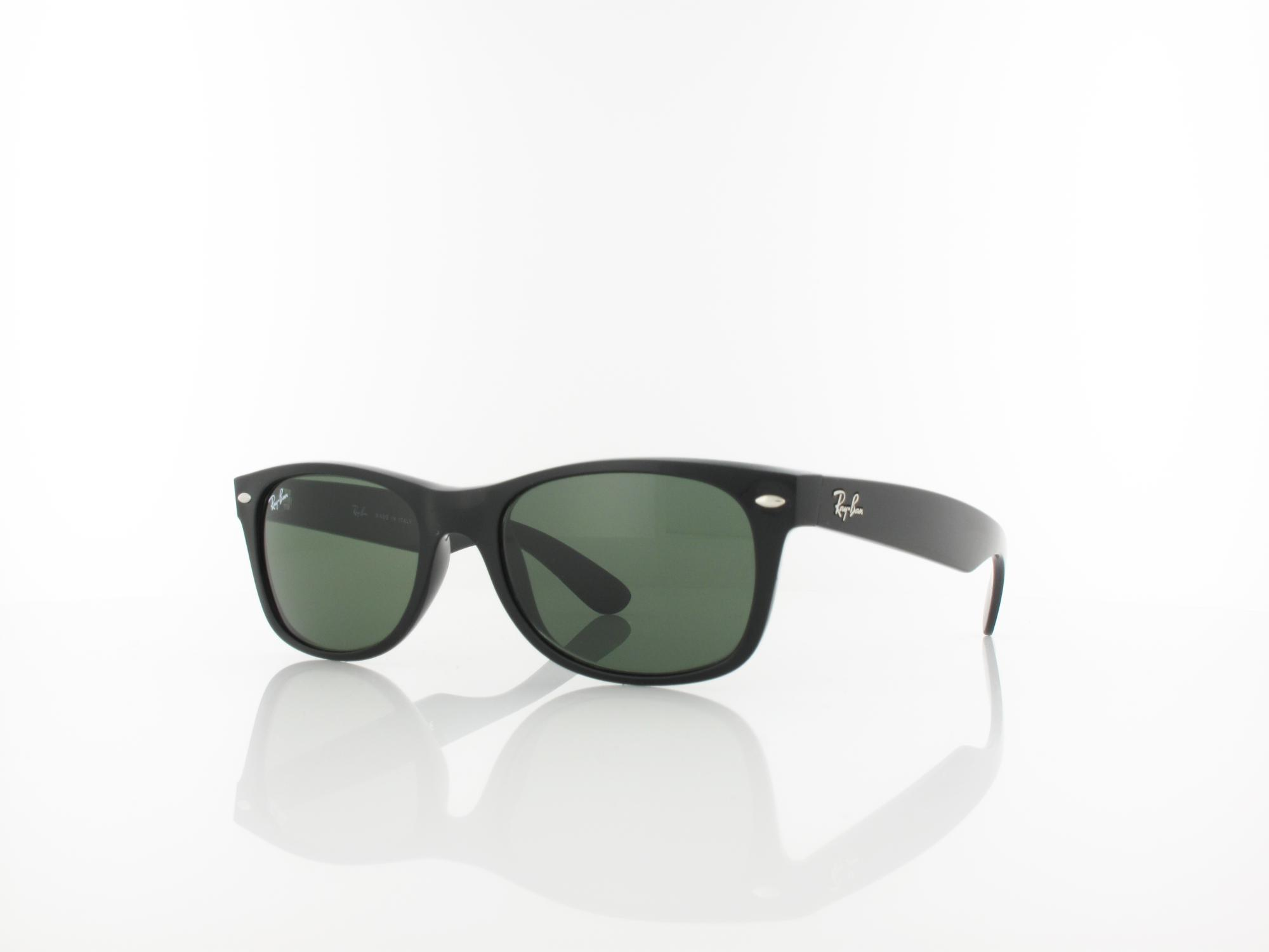Ray Ban | New Wayfarer RB2132 901 52 | black / green
