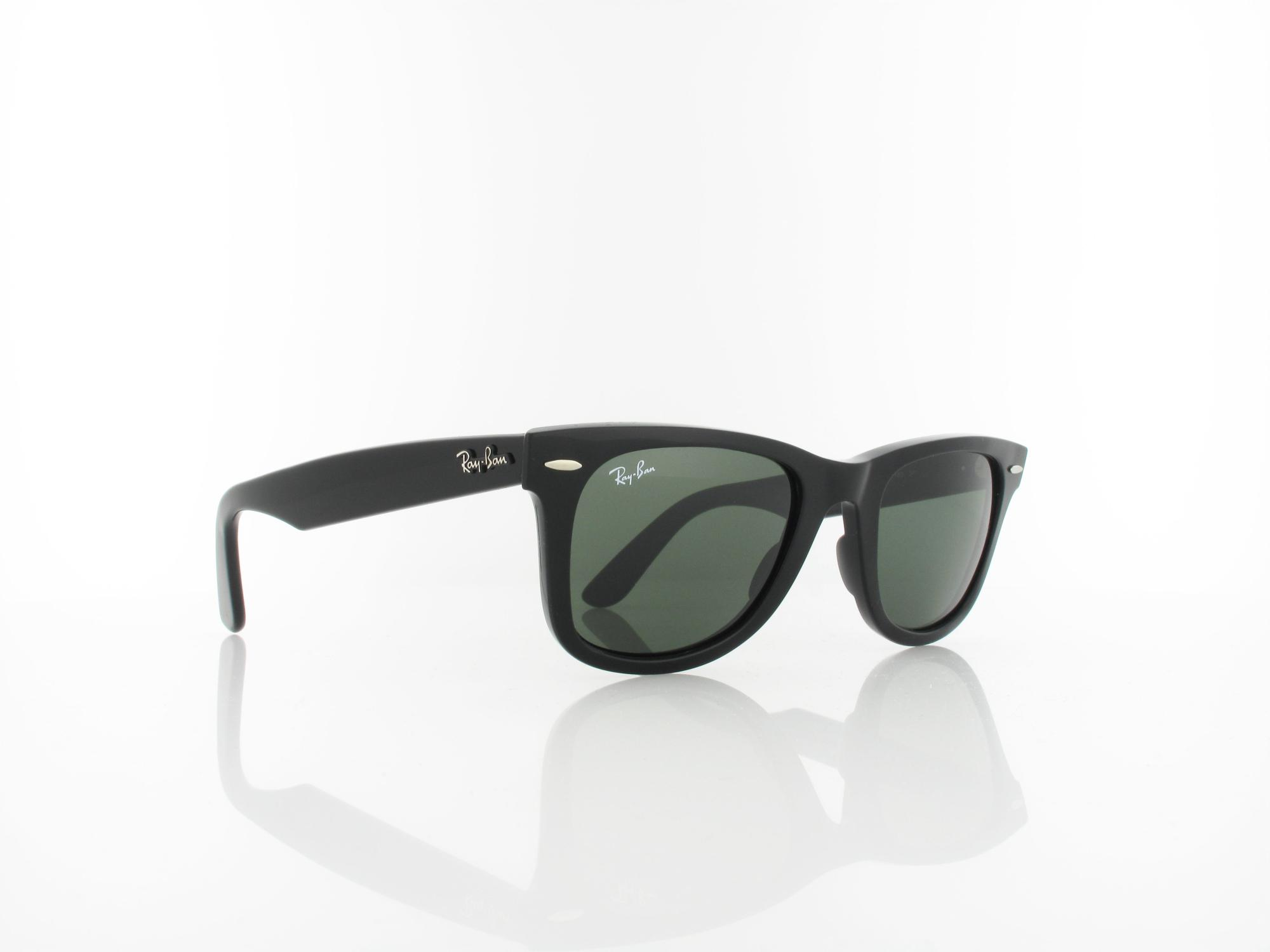 Ray Ban | Original Wayfarer RB2140 901 50 | black / crystal green