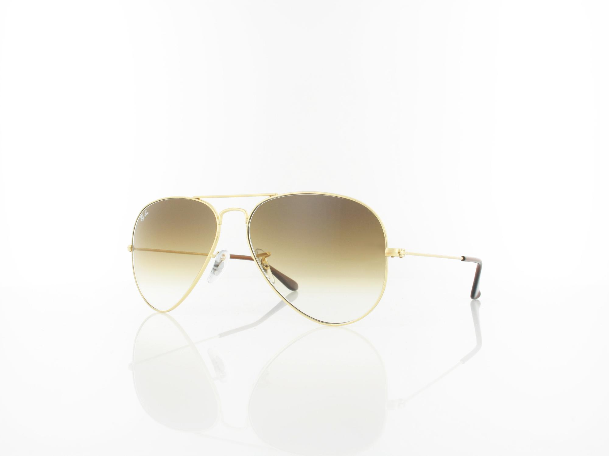 Ray Ban | Aviator Large Metal RB3025 001/51 58 | arista / crystal brown gradient