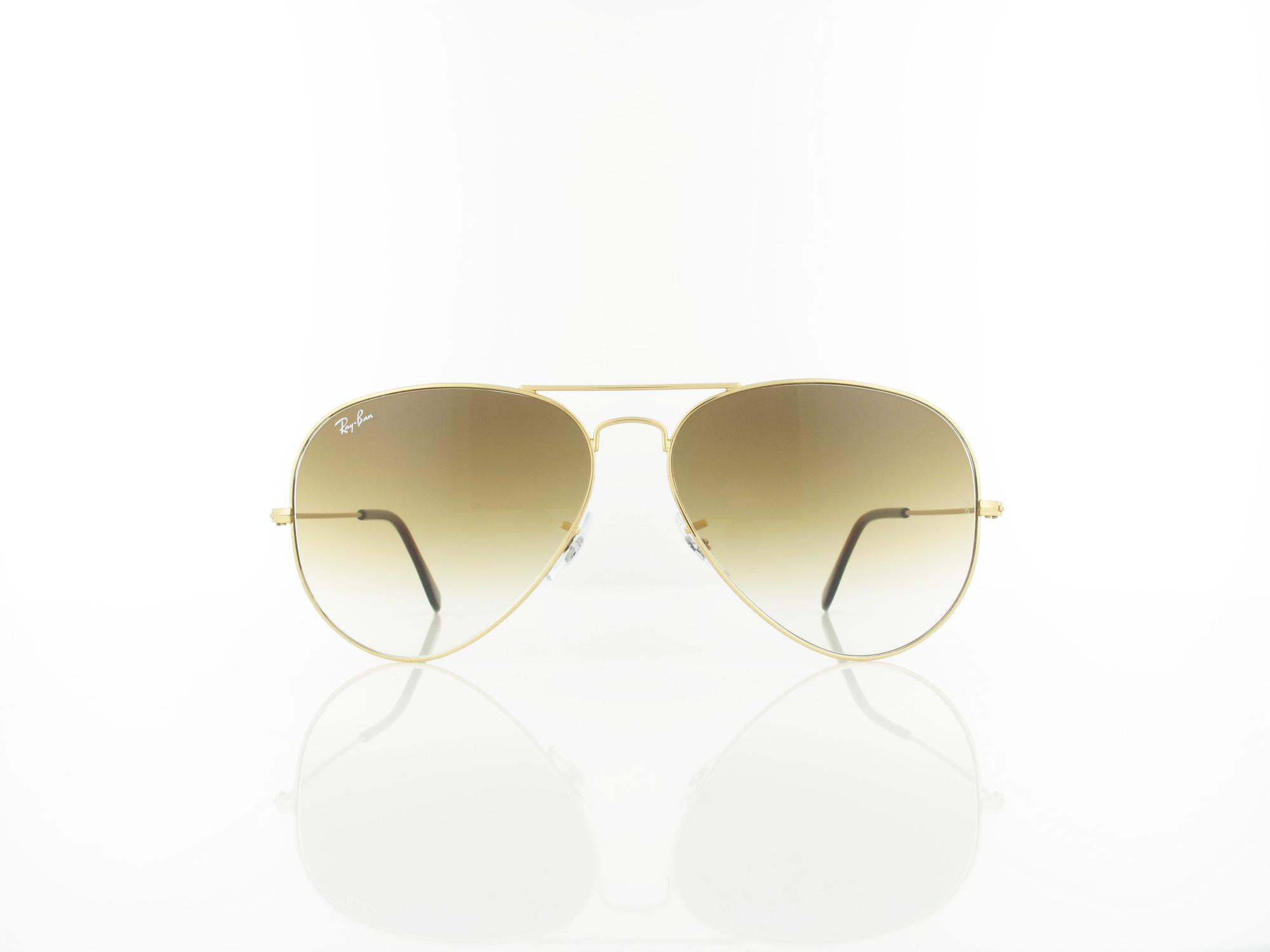 Ray Ban | Aviator Large Metal RB3025 001/51 62 | arista / crystal brown gradient
