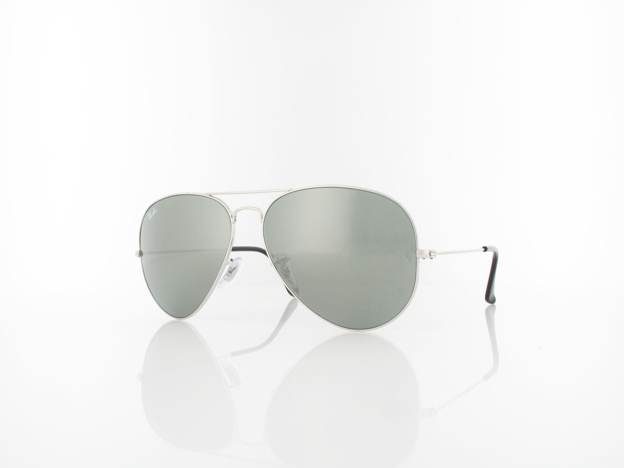 Ray Ban | Aviator Large Metal RB3025 003/40 62 | silver / crystal grey mirror
