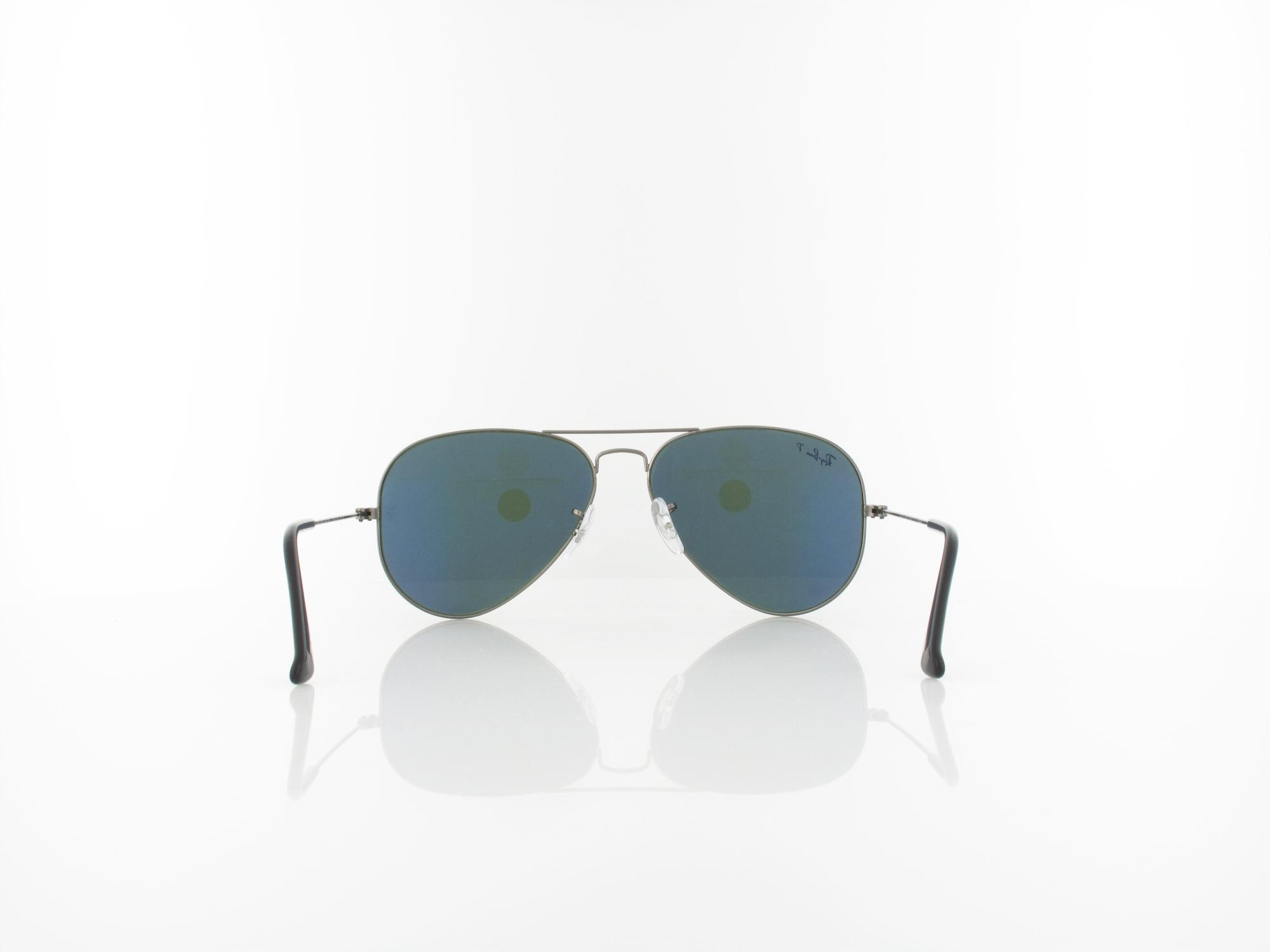 Ray Ban | Aviator Large Metal II RB3026 L2821 62 | black / crystal green