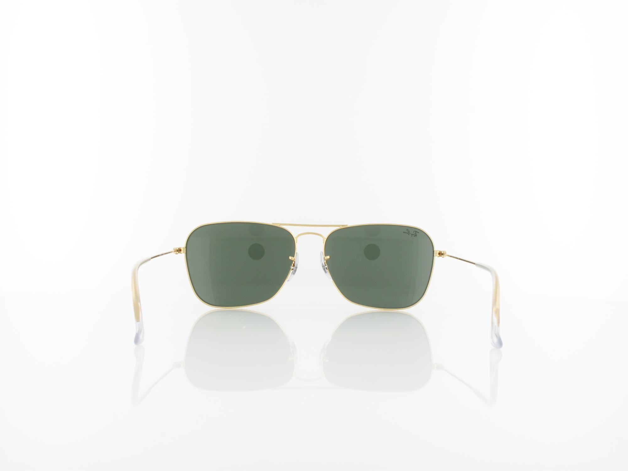Ray Ban | Caravan RB3136 001 58 | arista / crystal green
