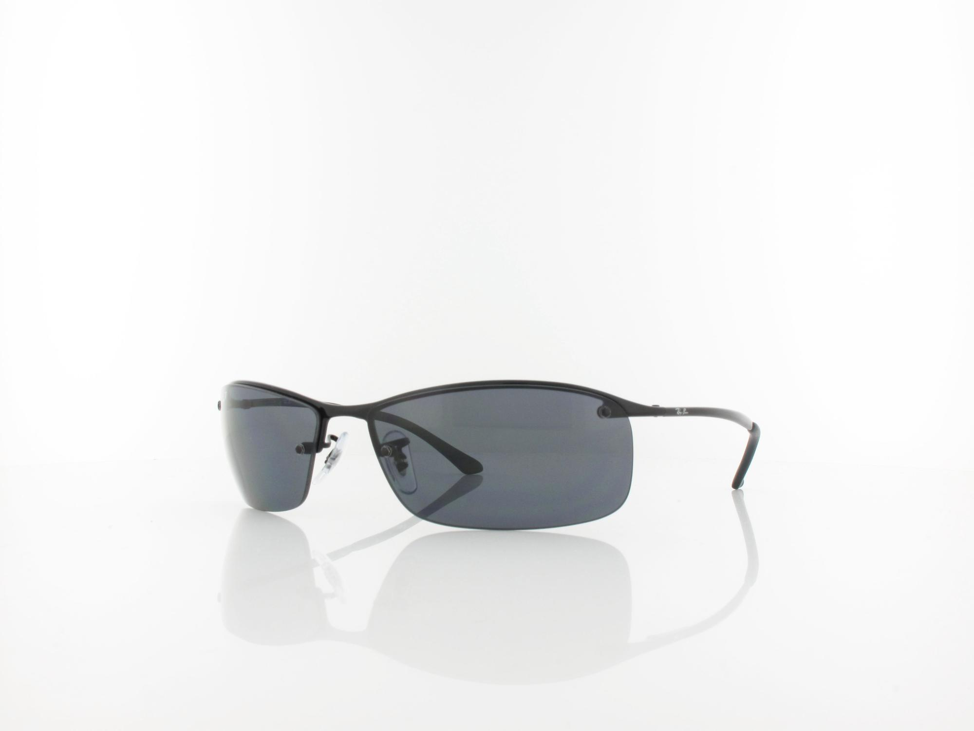Ray Ban | Top Bar RB3183 002/81 63 | black / polar grey