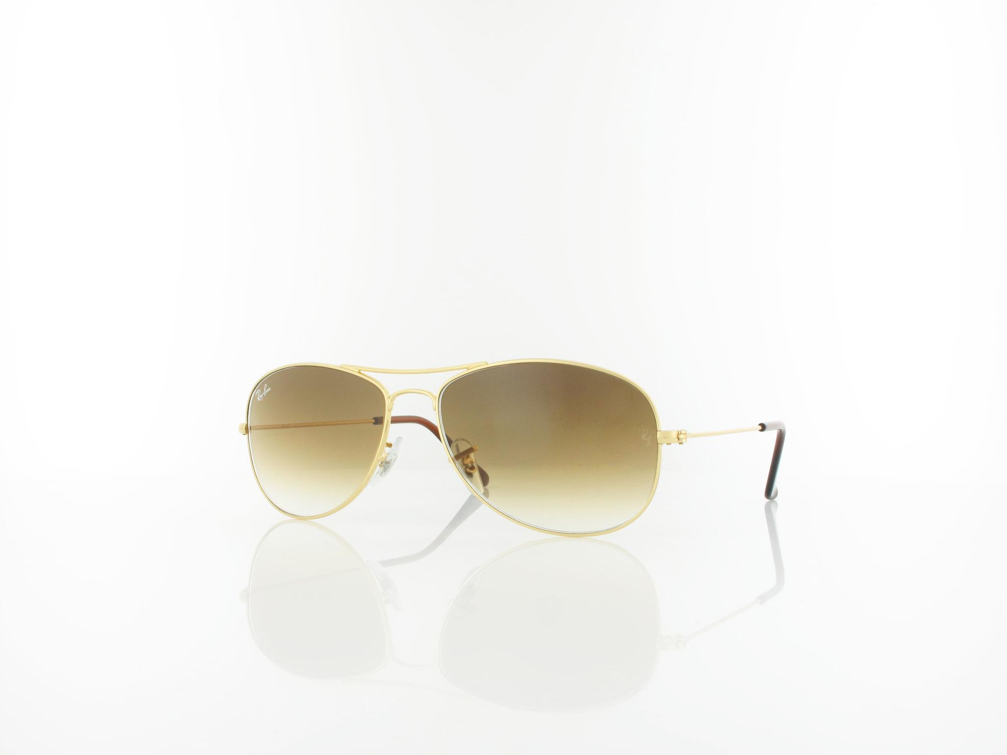 Ray Ban | Cockpit RB3362 001/51 56 | arista / crystal brown gradient
