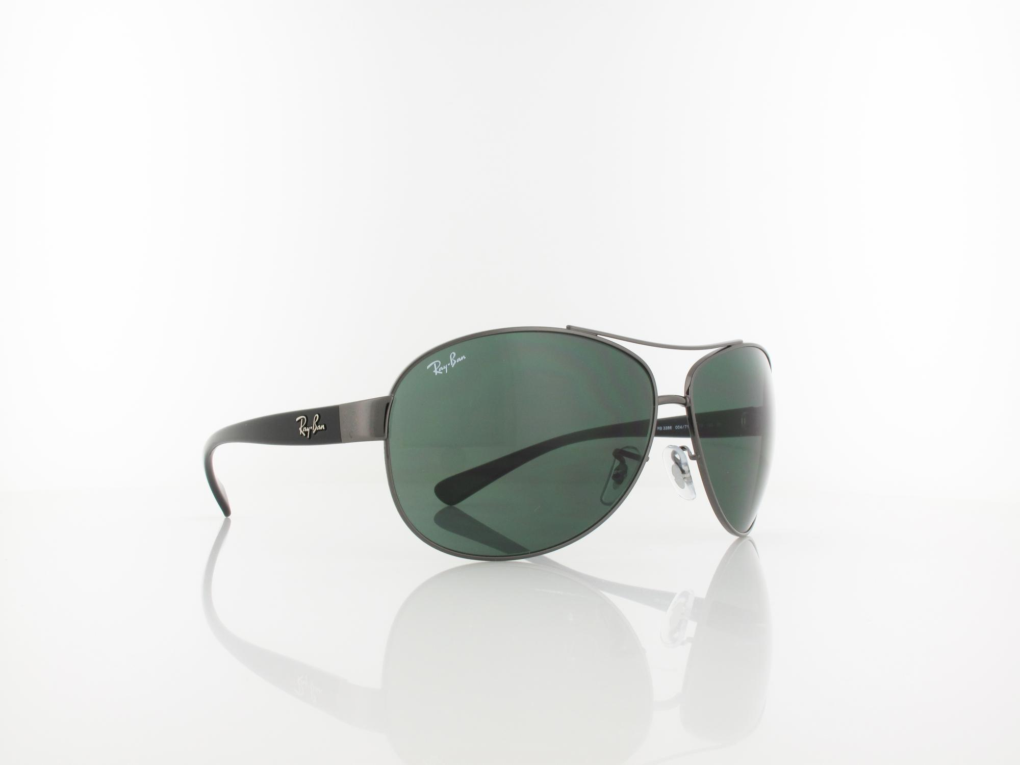 Ray Ban | RB3386 004/71 67 | gunmetal / green