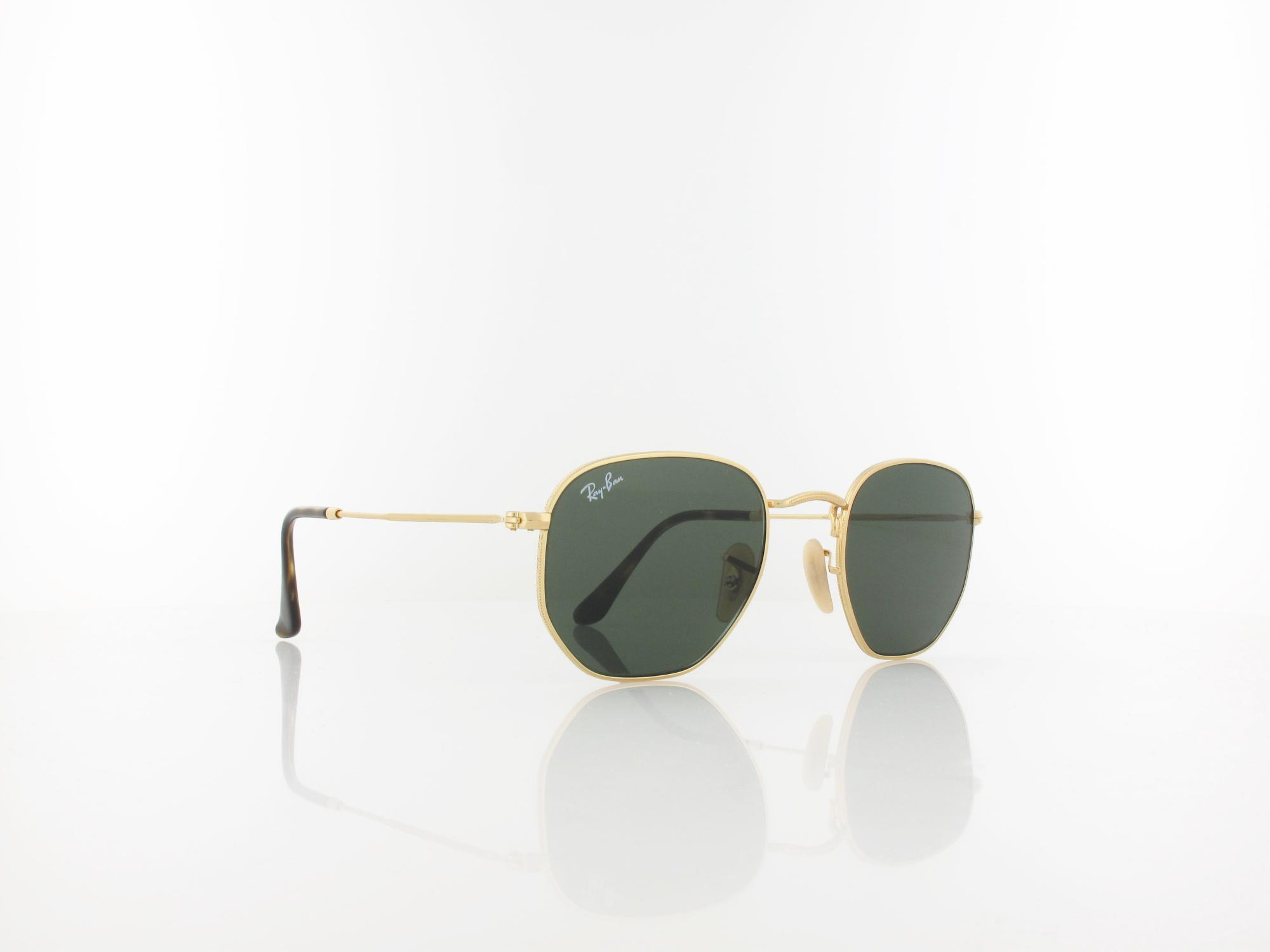 Ray Ban | RB3548N 001 48 | gold / crystal green