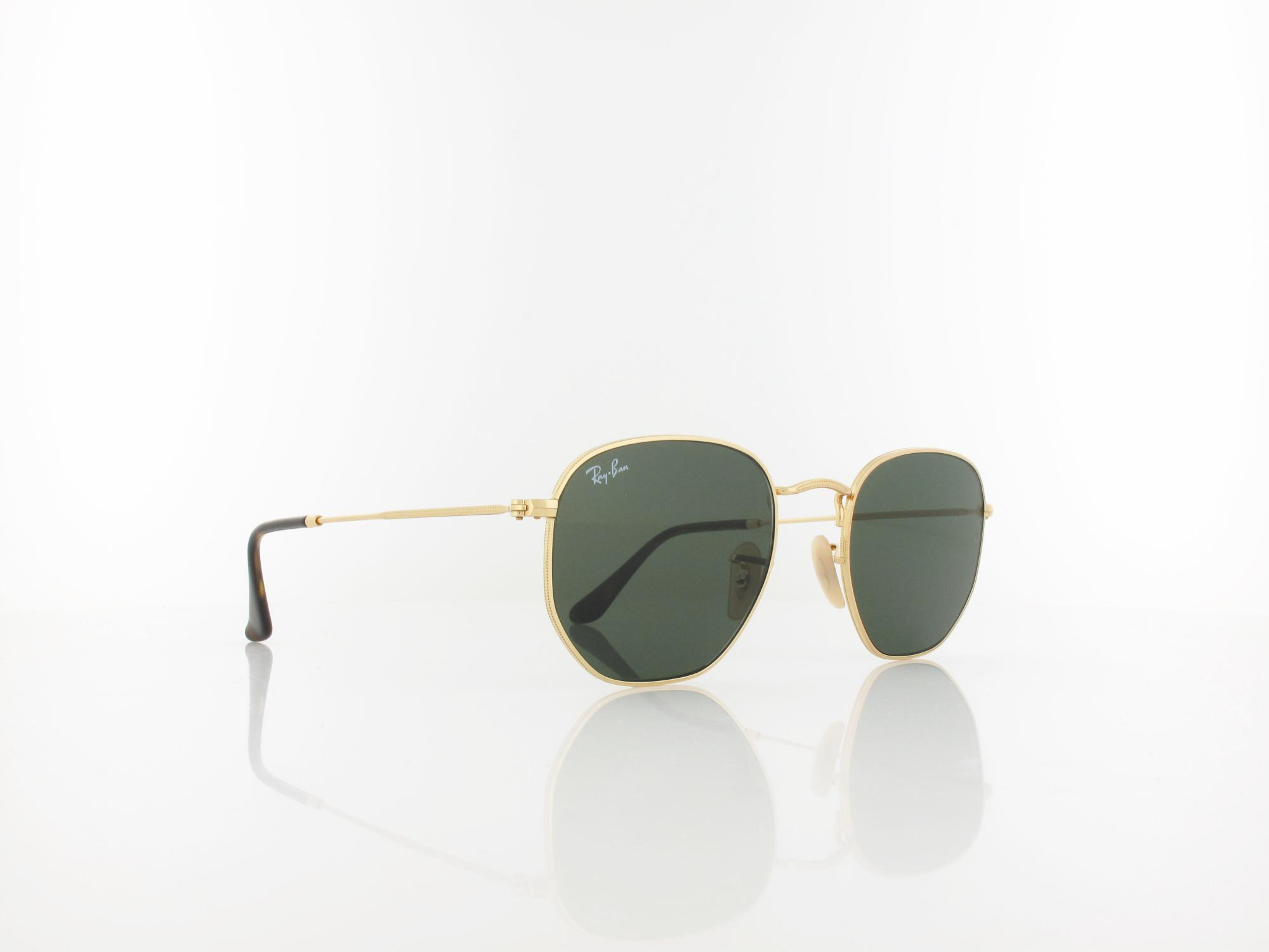 Ray Ban | RB3548N 001 51 | gold / crystal green
