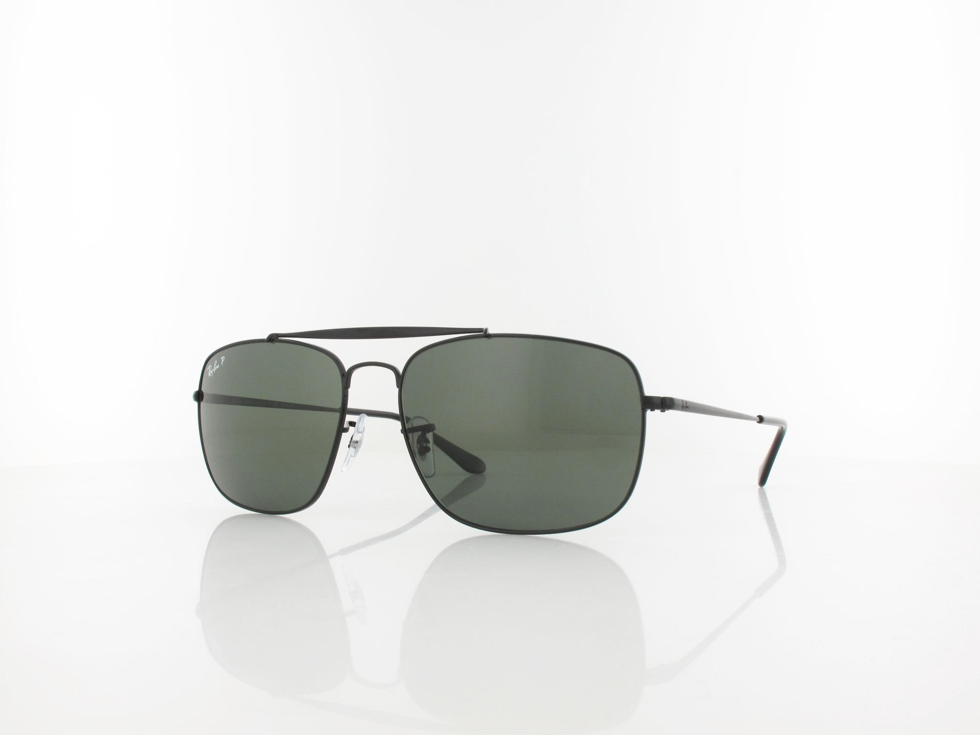 Ray Ban | THE COLONEL RB3560 002/58 61 | black / green polar