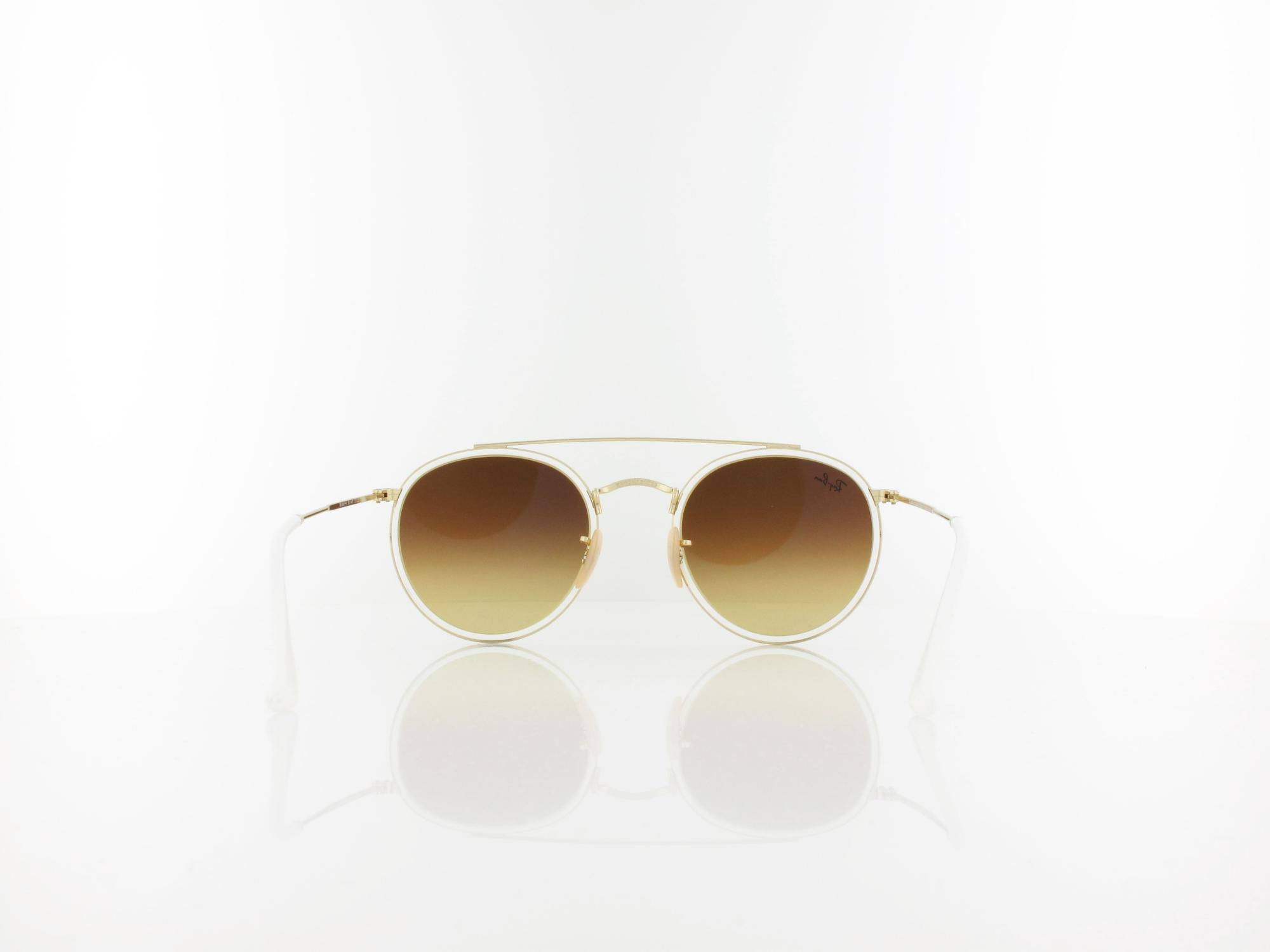 Ray Ban | RB3647N 001/4O 51 | gold / blue gradient flash