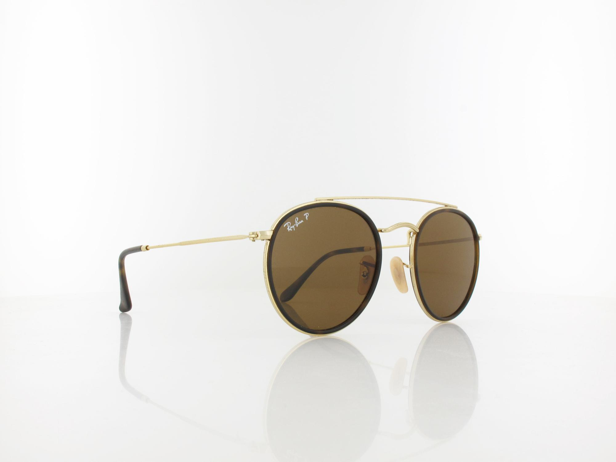 Ray Ban | RB3647N 001/57 51 | gold / polar brown