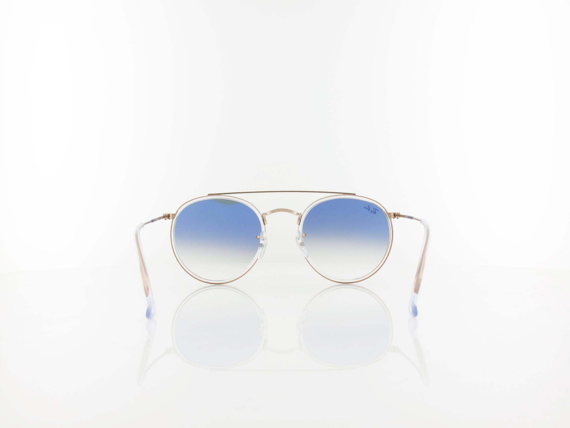 Ray Ban | RB3647N 90683F 51 | copper / clear gradient blue
