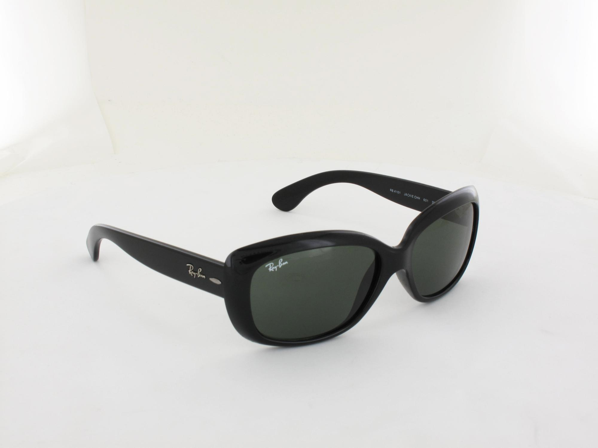 Ray Ban | Jackie Ohh RB4101 601 58 | black / crystal green