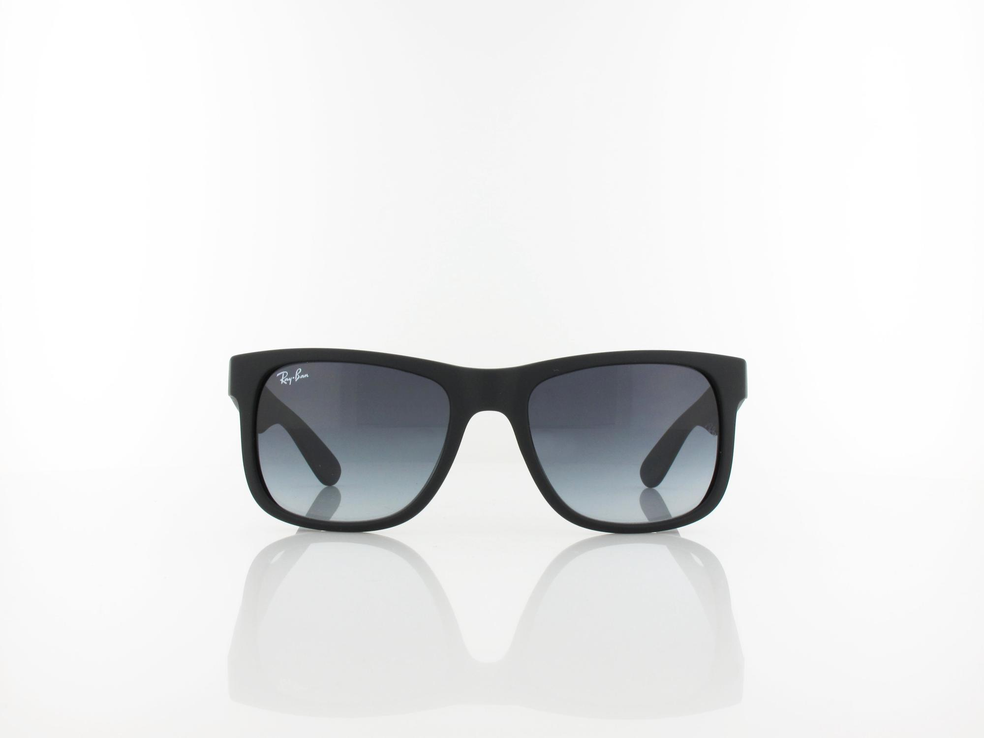 Ray Ban | Justin RB4165 601/8G 51 | rubber black / grey gradient