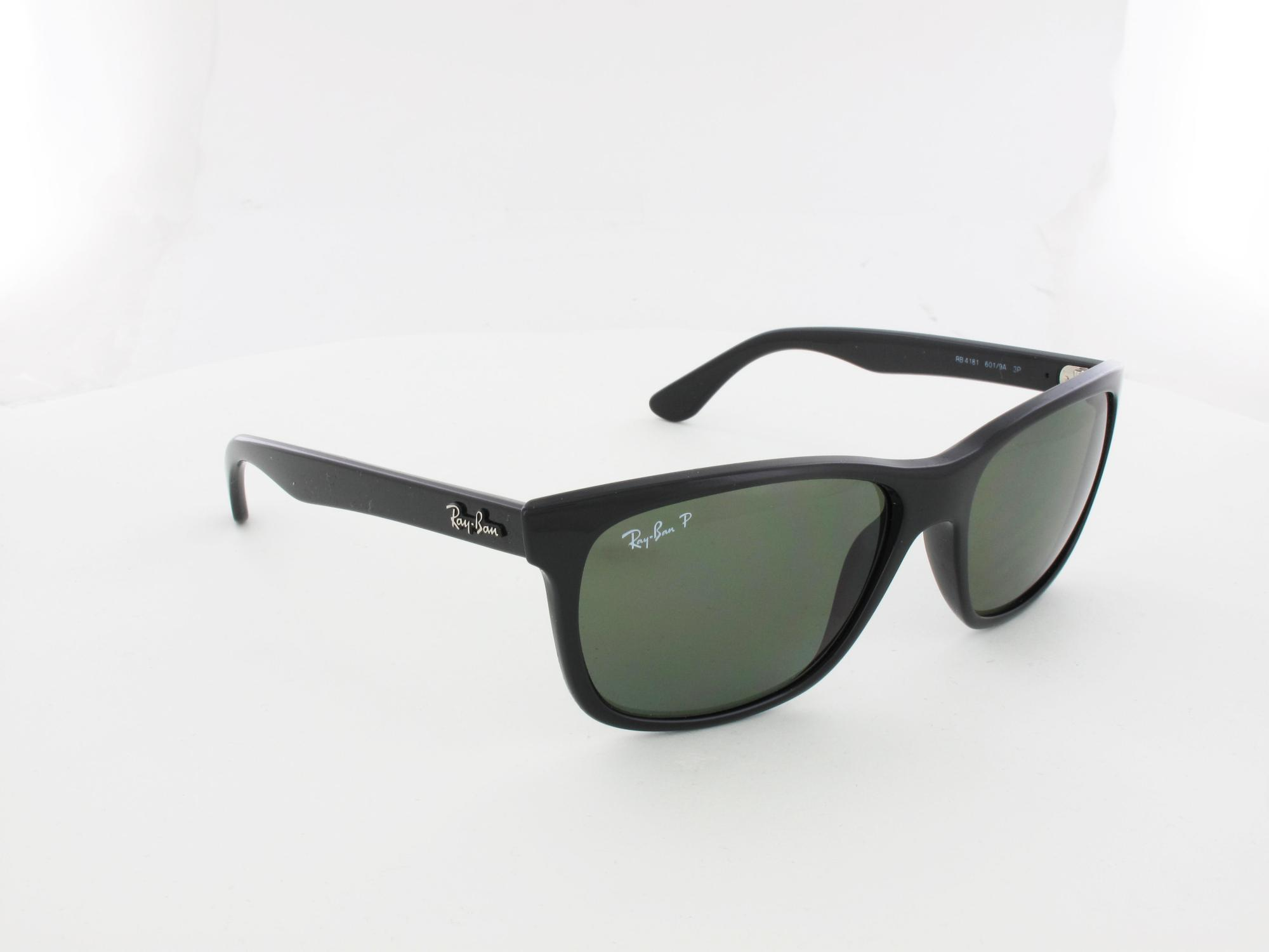 Ray Ban | RB4181 601/9A 57 | black / polar green
