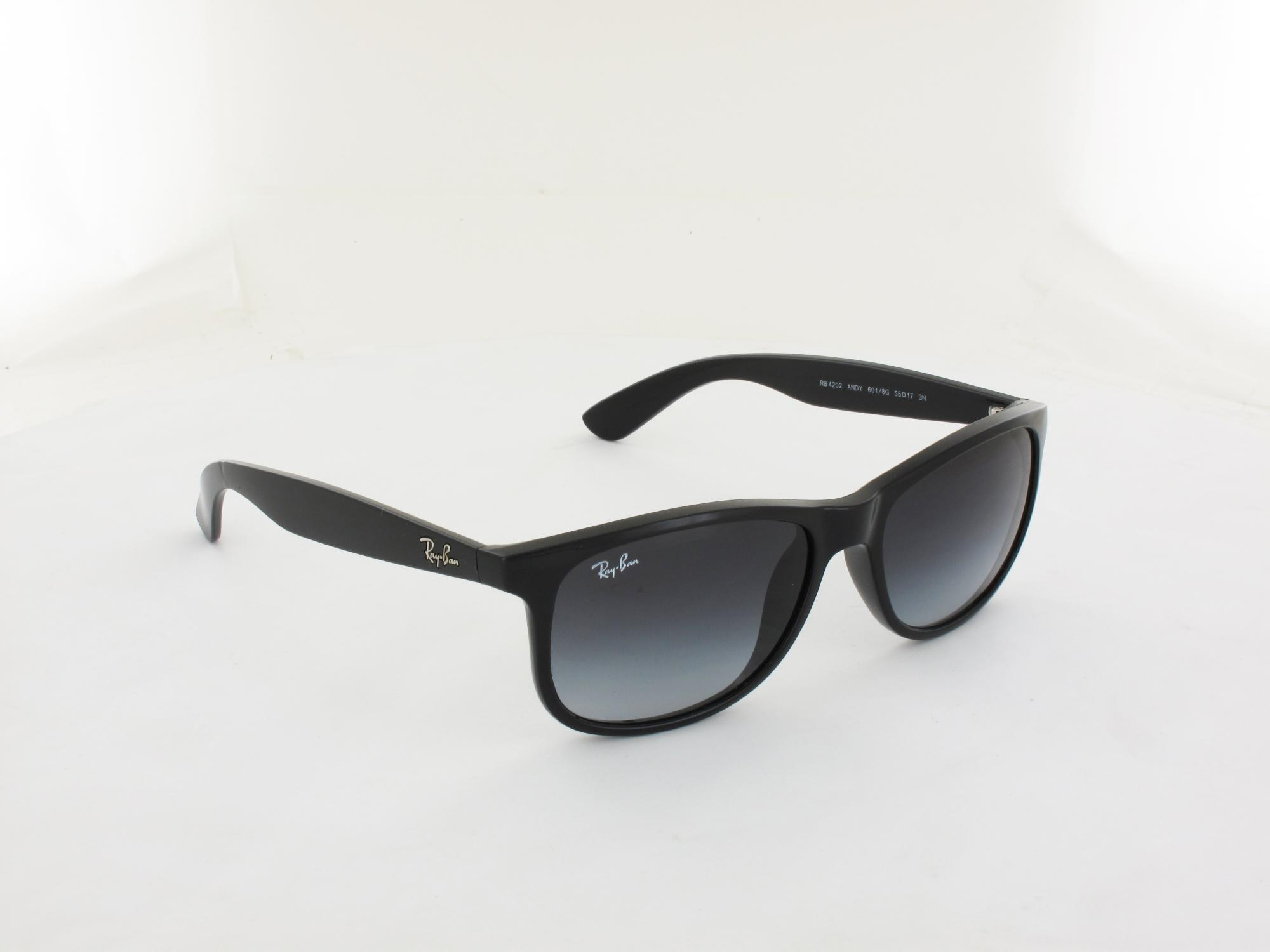 Ray Ban | Andy RB4202 6018G 55 | black / grey gradient